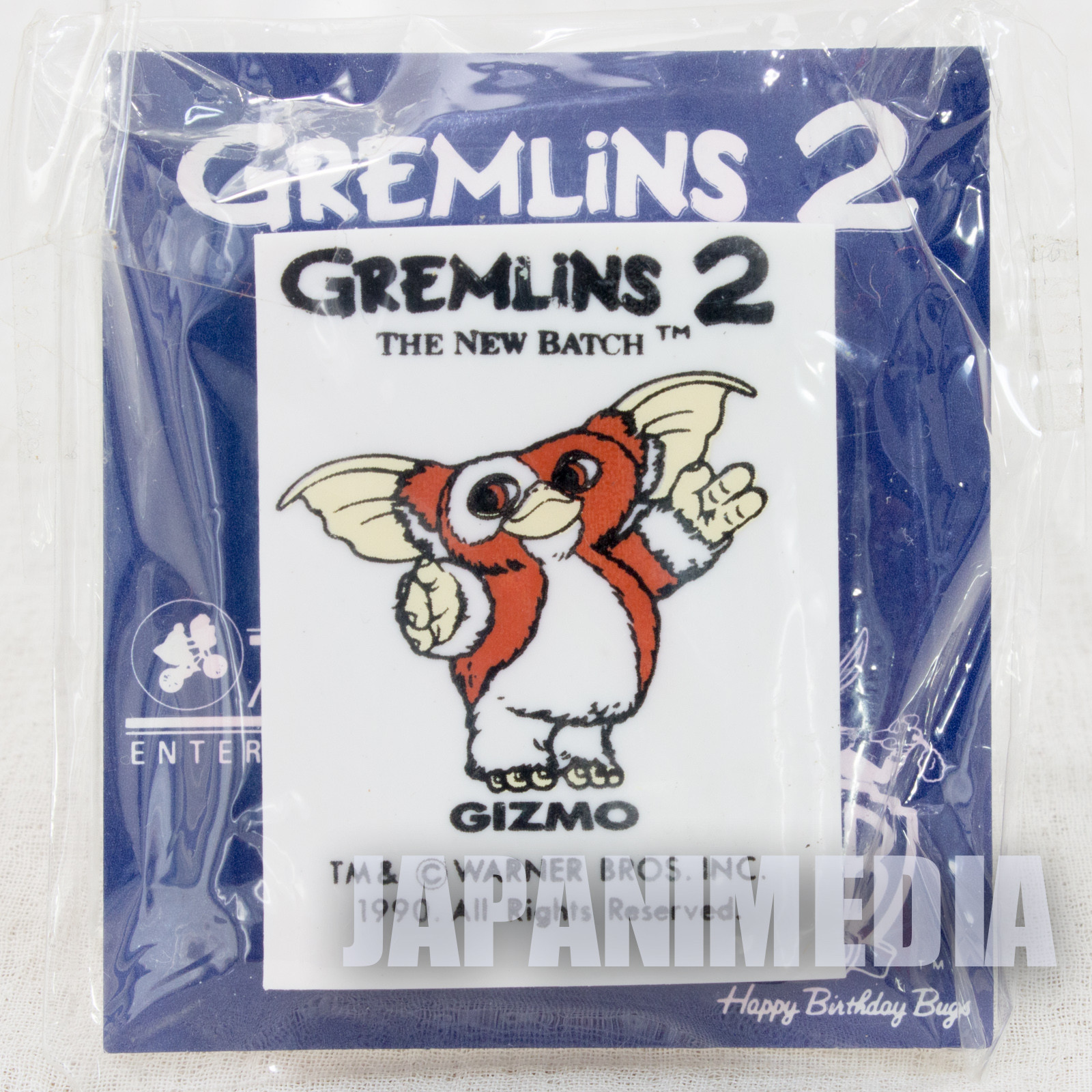 Retro RARE! Gremlins 2 The New Batch Gizmo Eraser