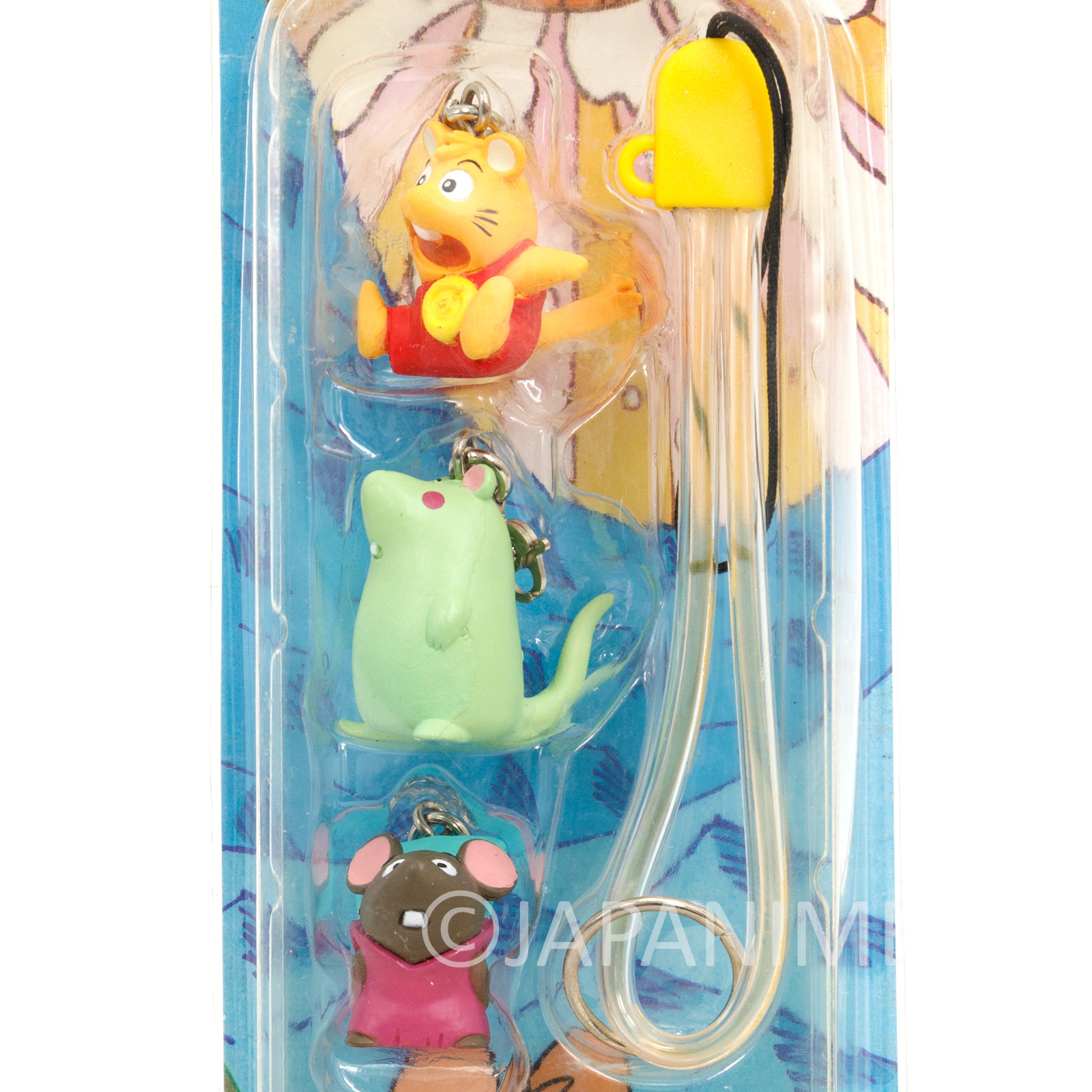 Gamba no Boken Figure 3pc Strap #1 JAPAN ANIME MANGA