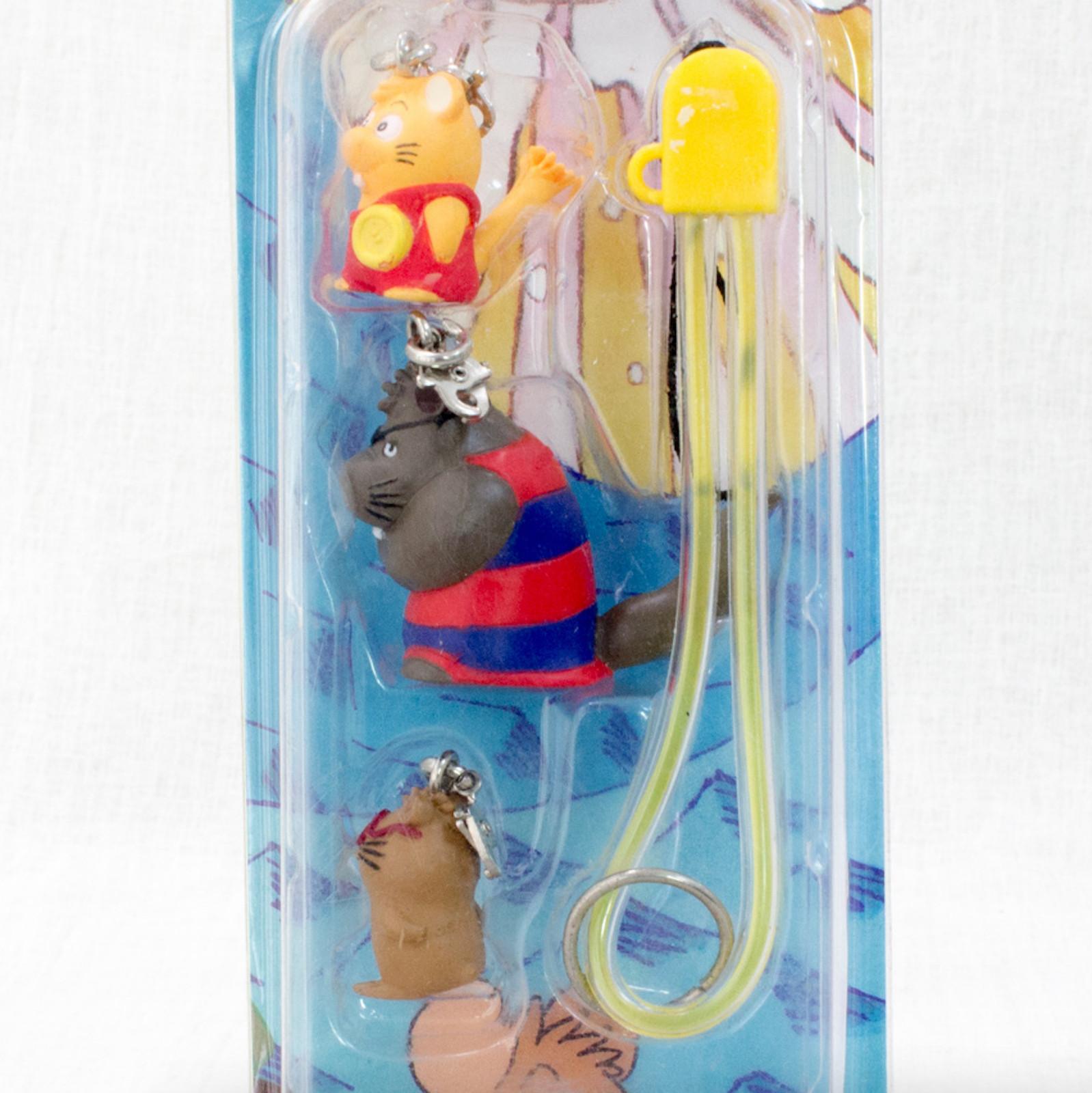 Gamba no Boken Figure 3pc Strap #2 JAPAN ANIME MANGA