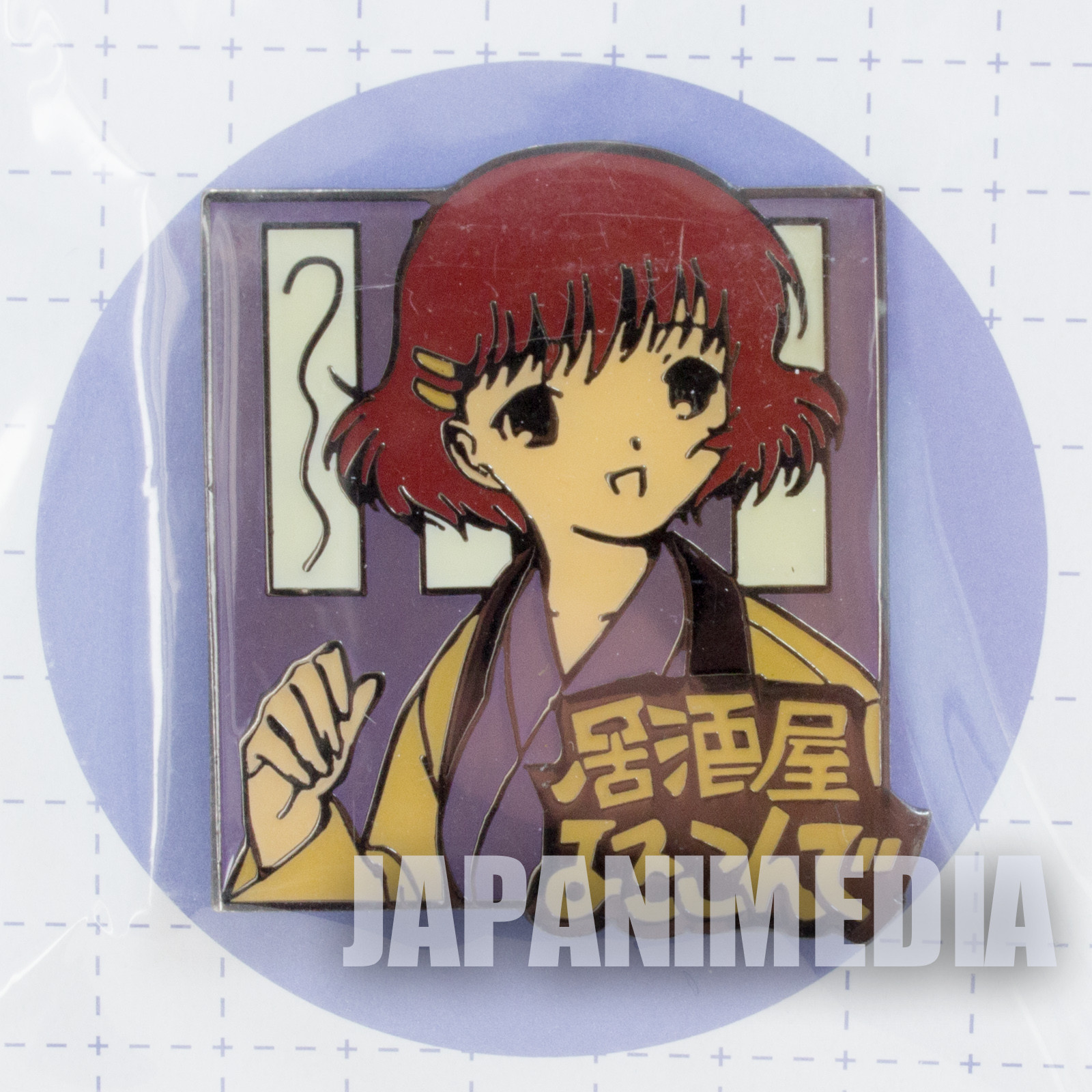 Retro RARE! Chobits Yumi Omura Metal Pins CLAMP JAPAN ANIME