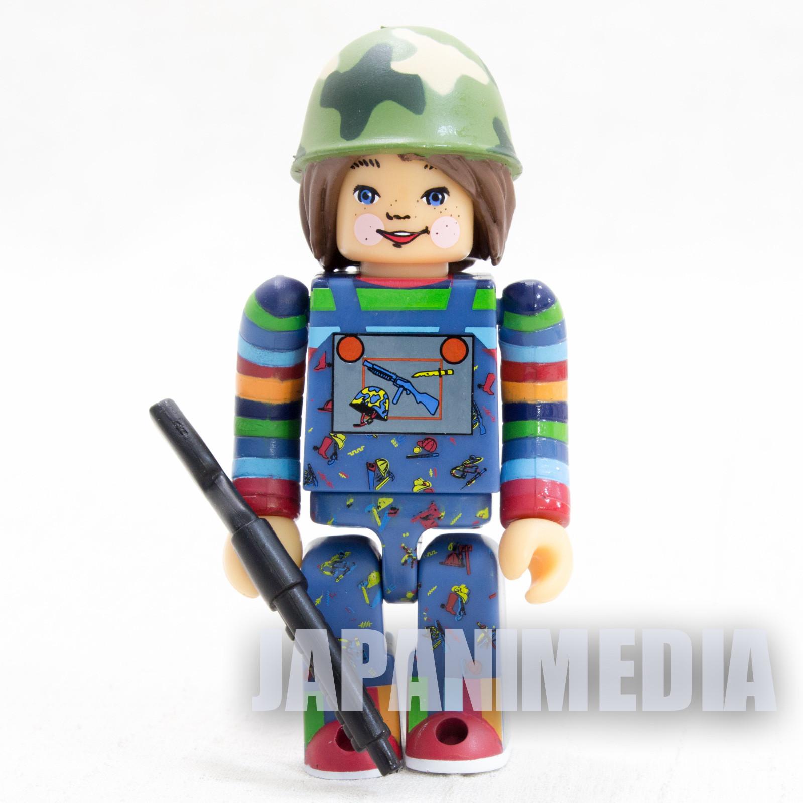 Child's Play 2 Good Guys Soldier Chucky Figure Kubrick Medicom Toy JAPAN ANIME 2