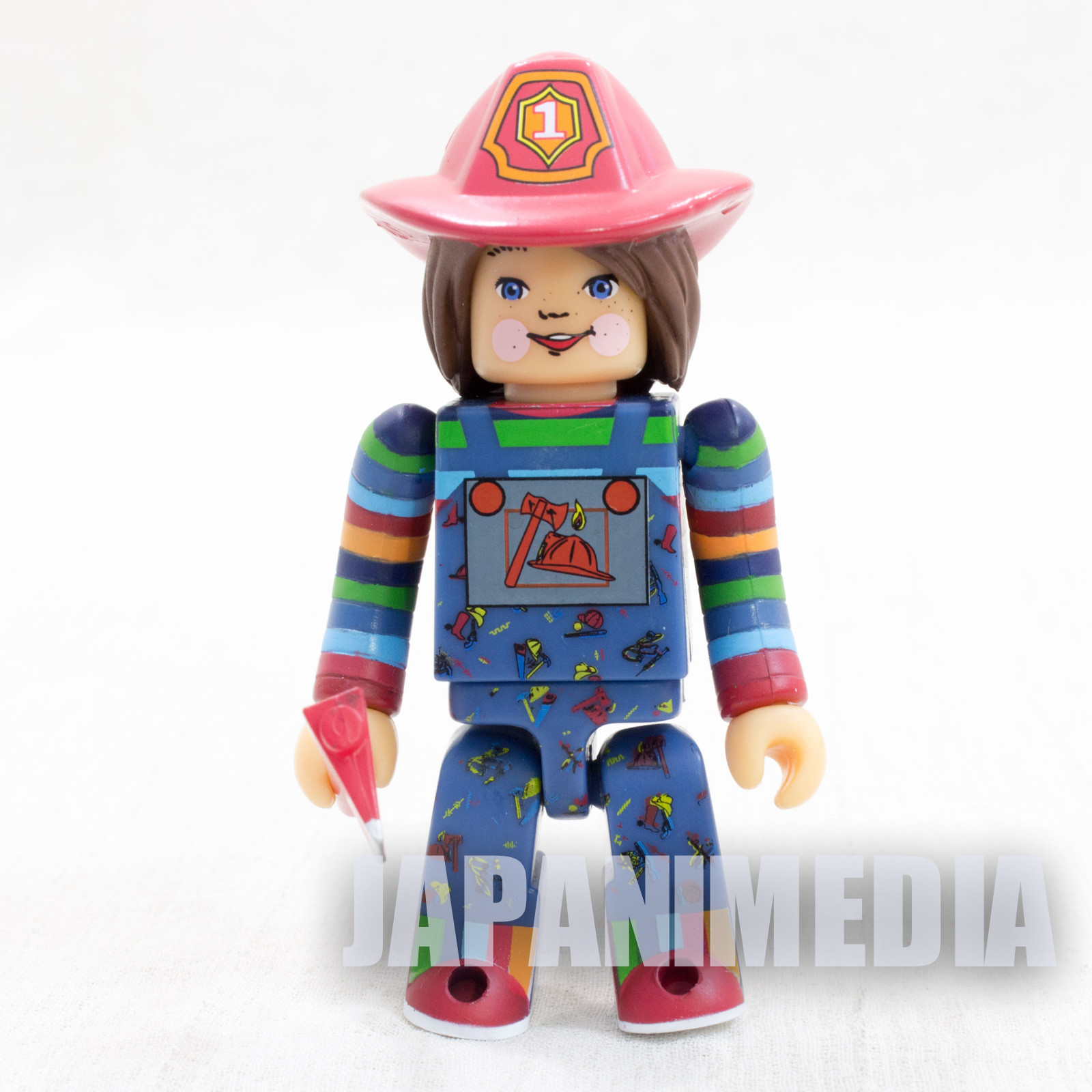 Child's Play 2 Good Guys Fireman Chucky Figure Kubrick Medicom Toy JAPAN ANIME 2