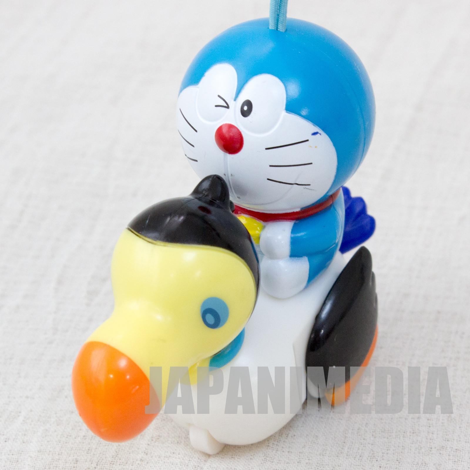 Doraemon: Nobita and the Island of Miracles ~Animal Adventure~ Doraemon & Kurajo Pull Back Figure JAPAN ANIME