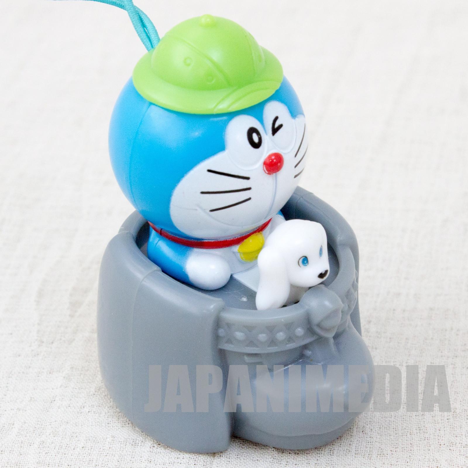 Doraemon: New Nobita's Great Demon Doraemon & Peko Pull Back Figure JAPAN ANIME 1