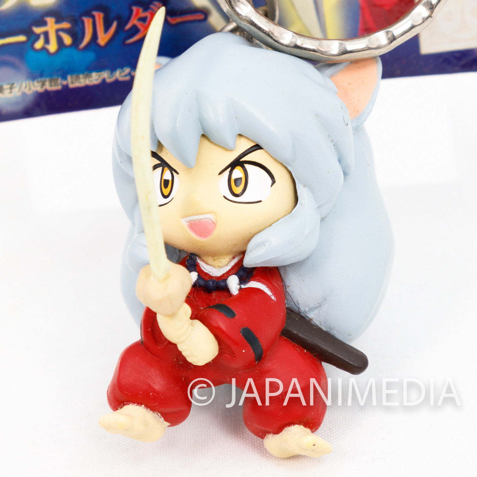 InuYasha Figure Key Chain JAPAN ANIME MANGA RUMIKO