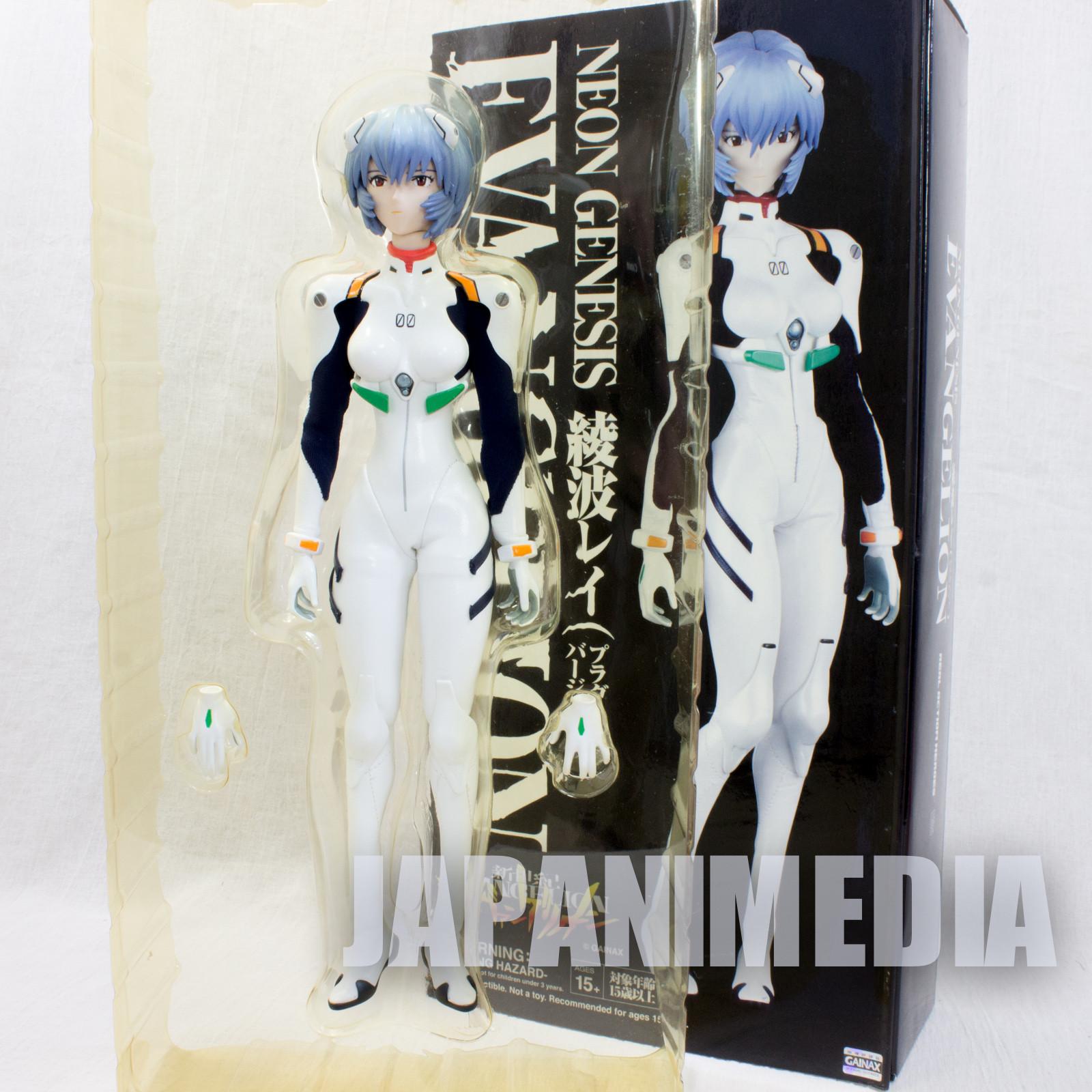 Evangelion Rei Ayanami Plug Suit Figure RAH Medicom Toy JAPAN ANIME MANGA