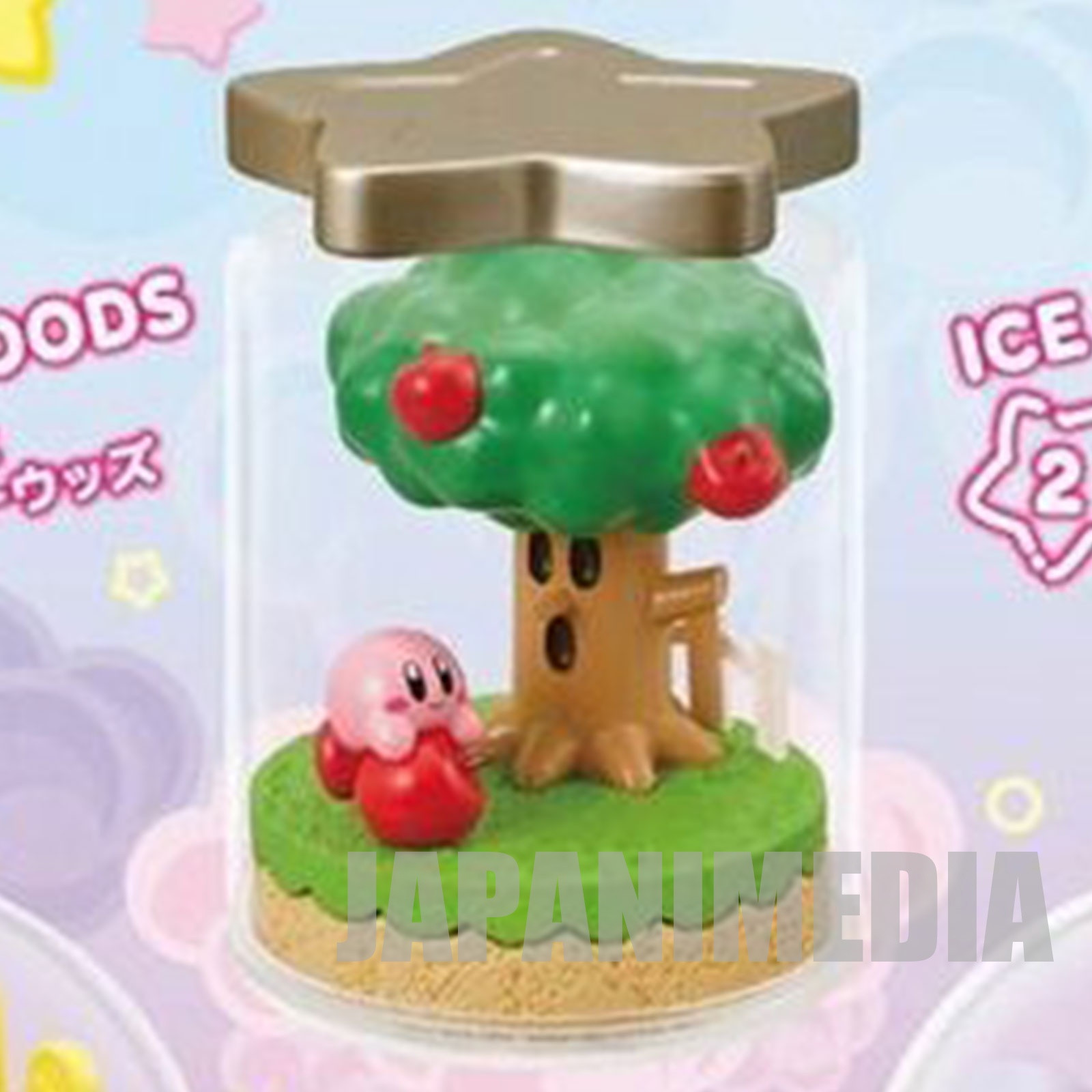 Kirby Super Star Terrarium Collection Figure #1 Kirby & Whispy Woods JAPAN