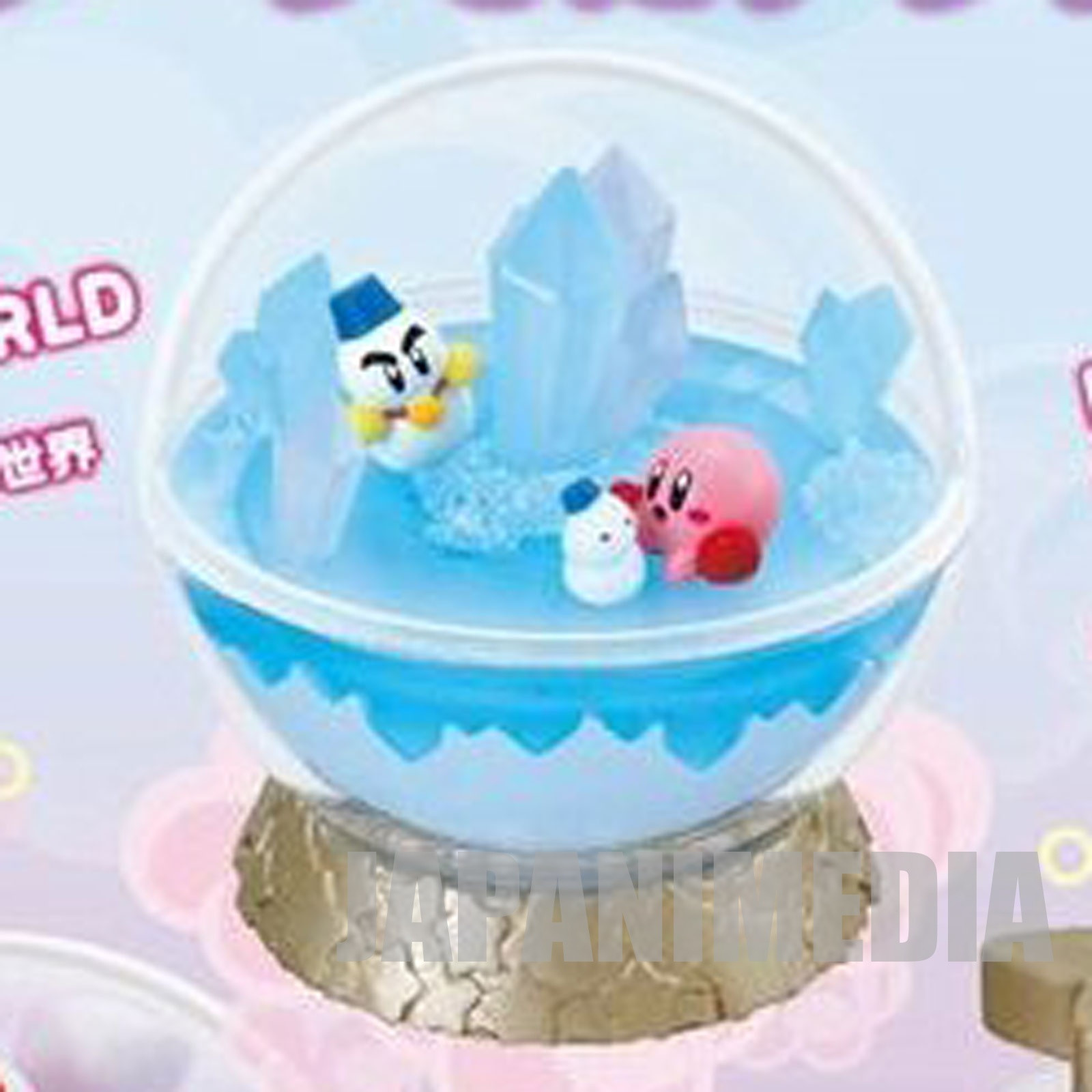 Kirby Super Star Terrarium Collection Figure #2 Ice World JAPAN GAME