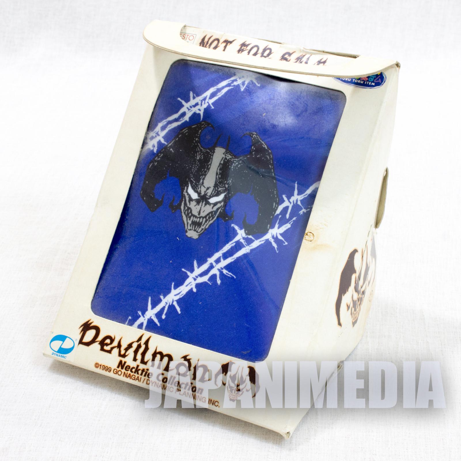 Retro RARE! Devilman Necktie #2 Banpresto Go Nagai JAPAN ANIME