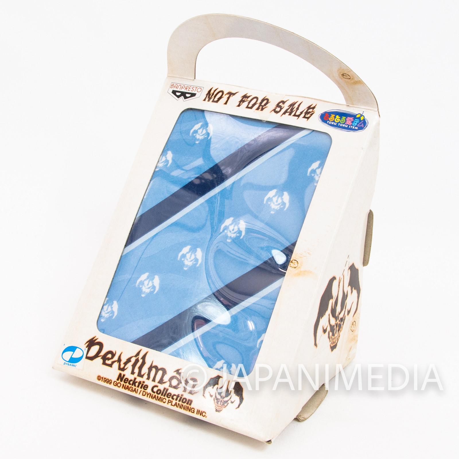 Retro RARE! Devilman Necktie #3 Banpresto Go Nagai JAPAN ANIME