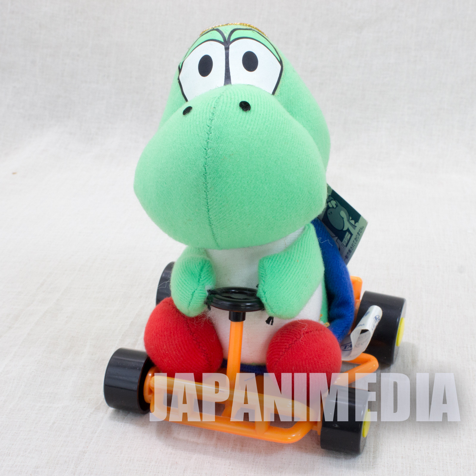 Retro Super Mario Kart Yoshi Plush Doll TAKARA JAPAN GAME Nintendo Famicom SNES