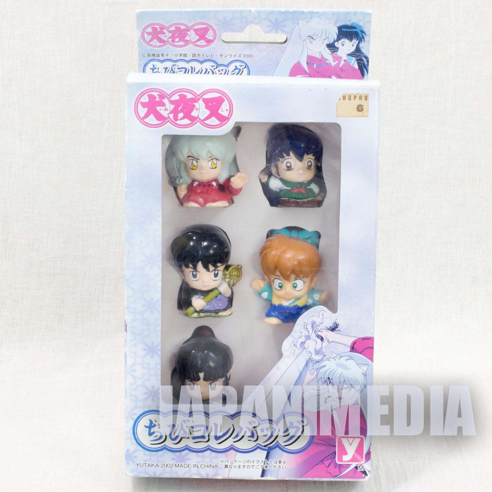 InuYasha Mini Figure Collection 5pc set [Inusyasha / Kagome / Sango / Miroku / Sippo] JAPAN ANIME MANGA