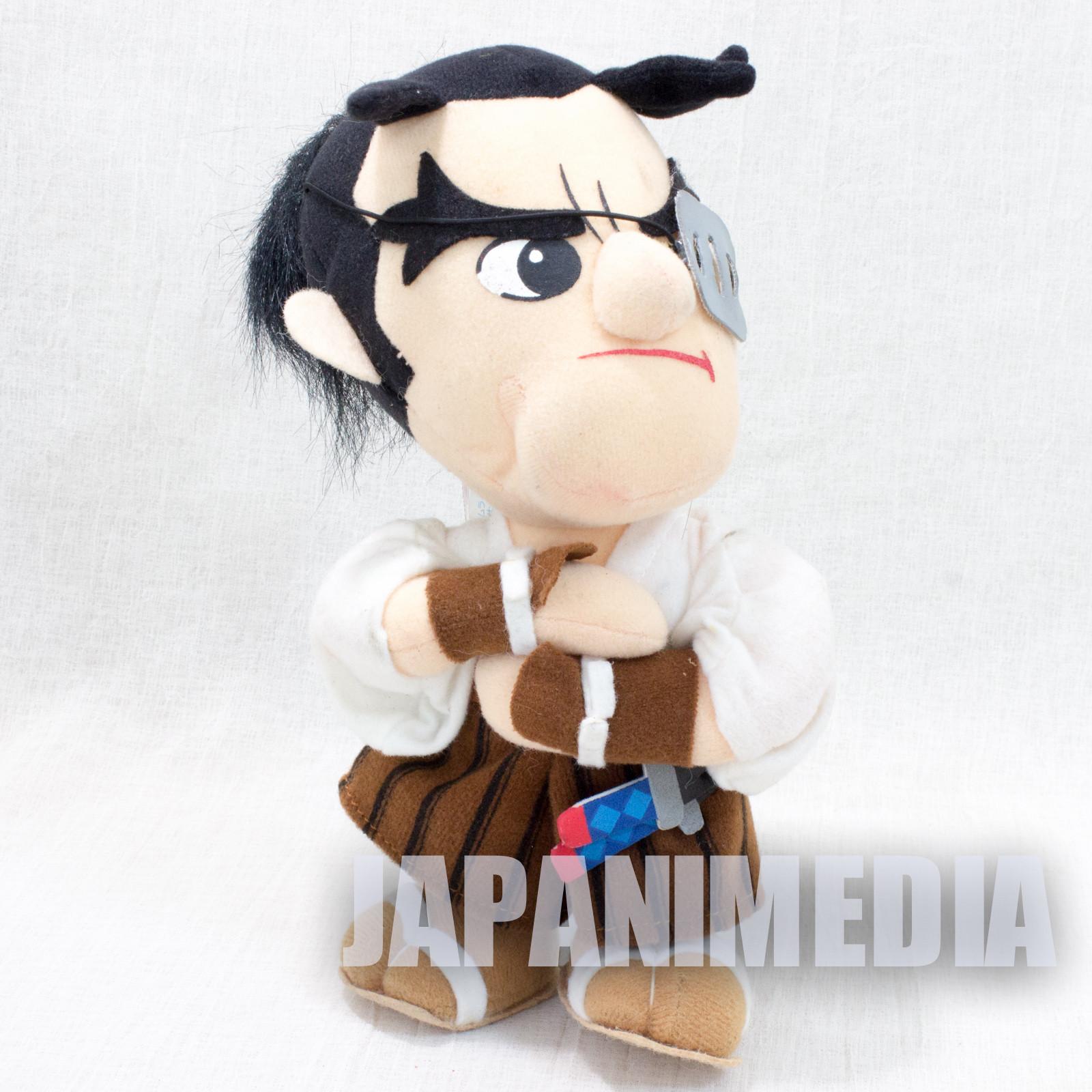 "Retro RARE! Samurai Shodown Jubei Yagyu Plush Doll 9"" SNK JAPAN NEOGEO SPIRITS"