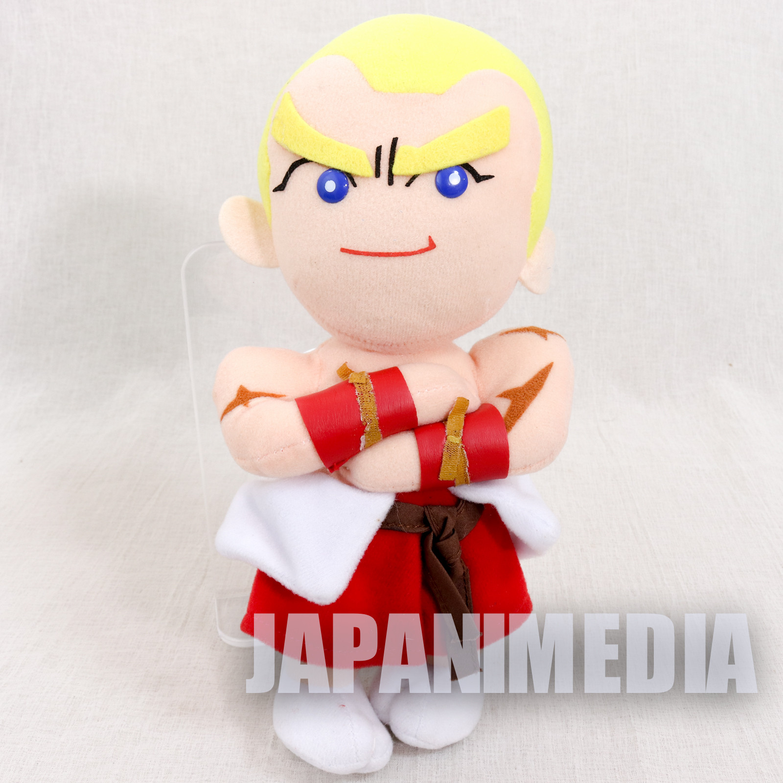 RARE! Fatal Fury / King of Fighters Geese Howard Plush Doll SNK JAPAN