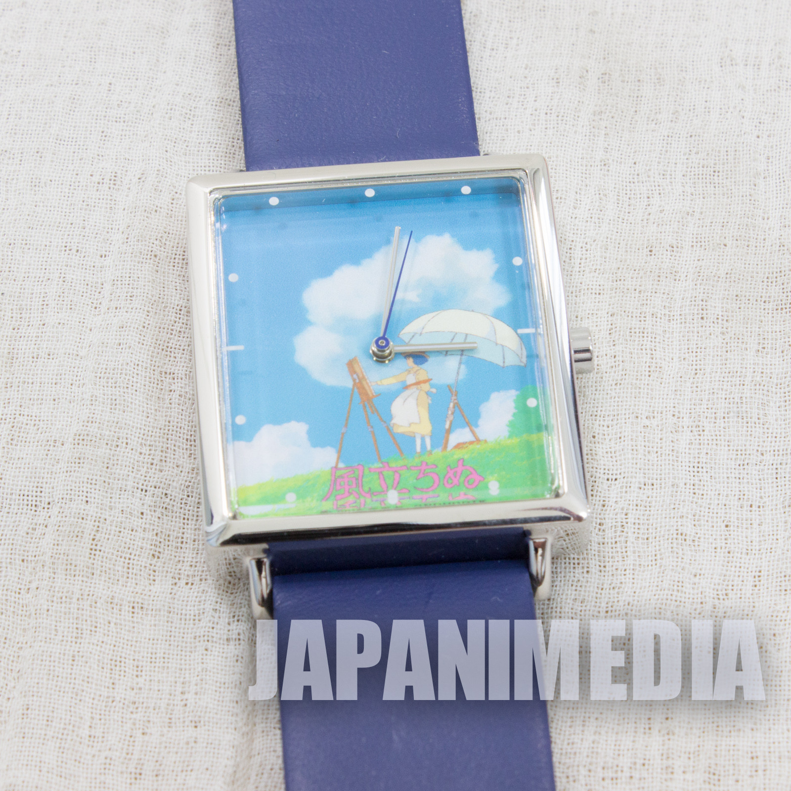 RARE The Wind Rises Nahoko Satomi Wrist Watch Ghibli 2013 JAPAN ANIME