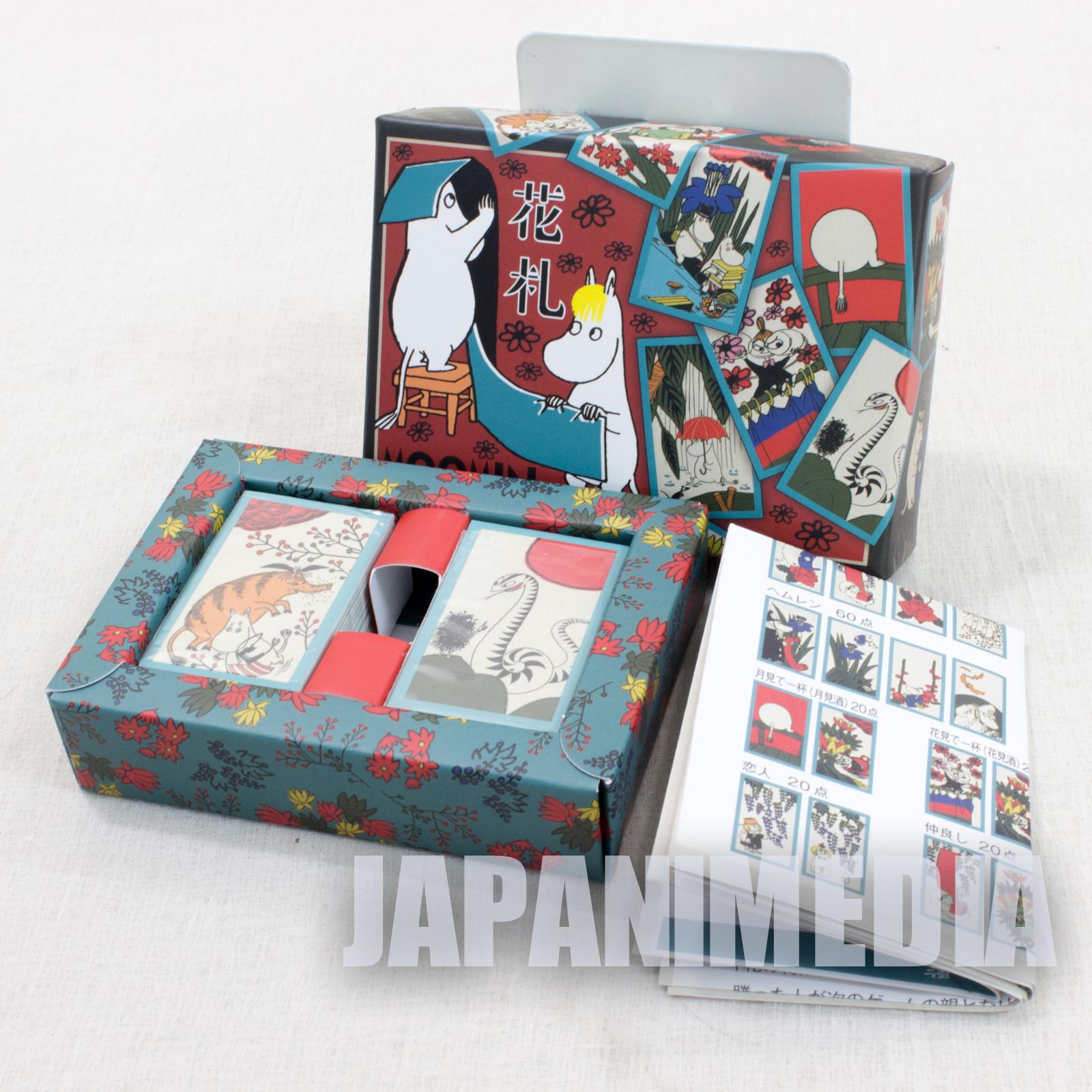 Moomin Hanafuda Japanese Card Game 48pc Japan