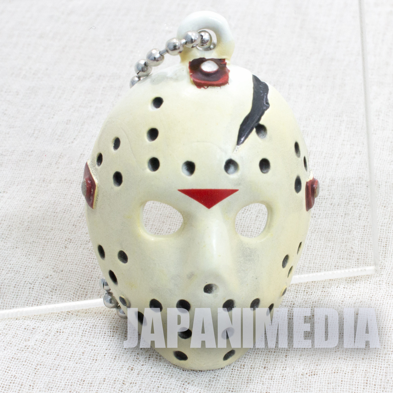 Friday The 13th Jason Voorhees X Mask Collection Figure Ballchain