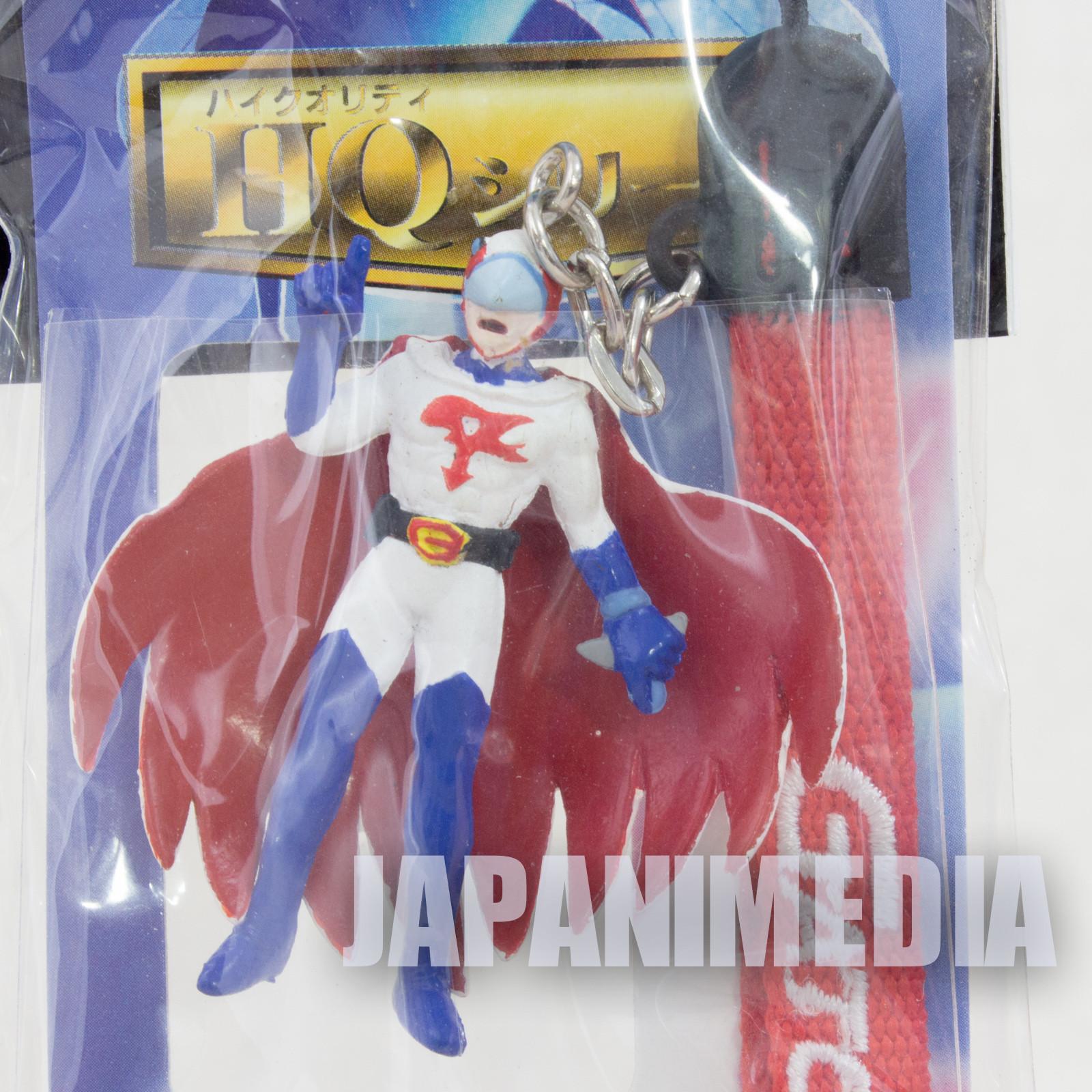 Kagaku Ninja Tai Gatchaman G-1 HQ series Mascot Figure Strap JAPAN ANIME