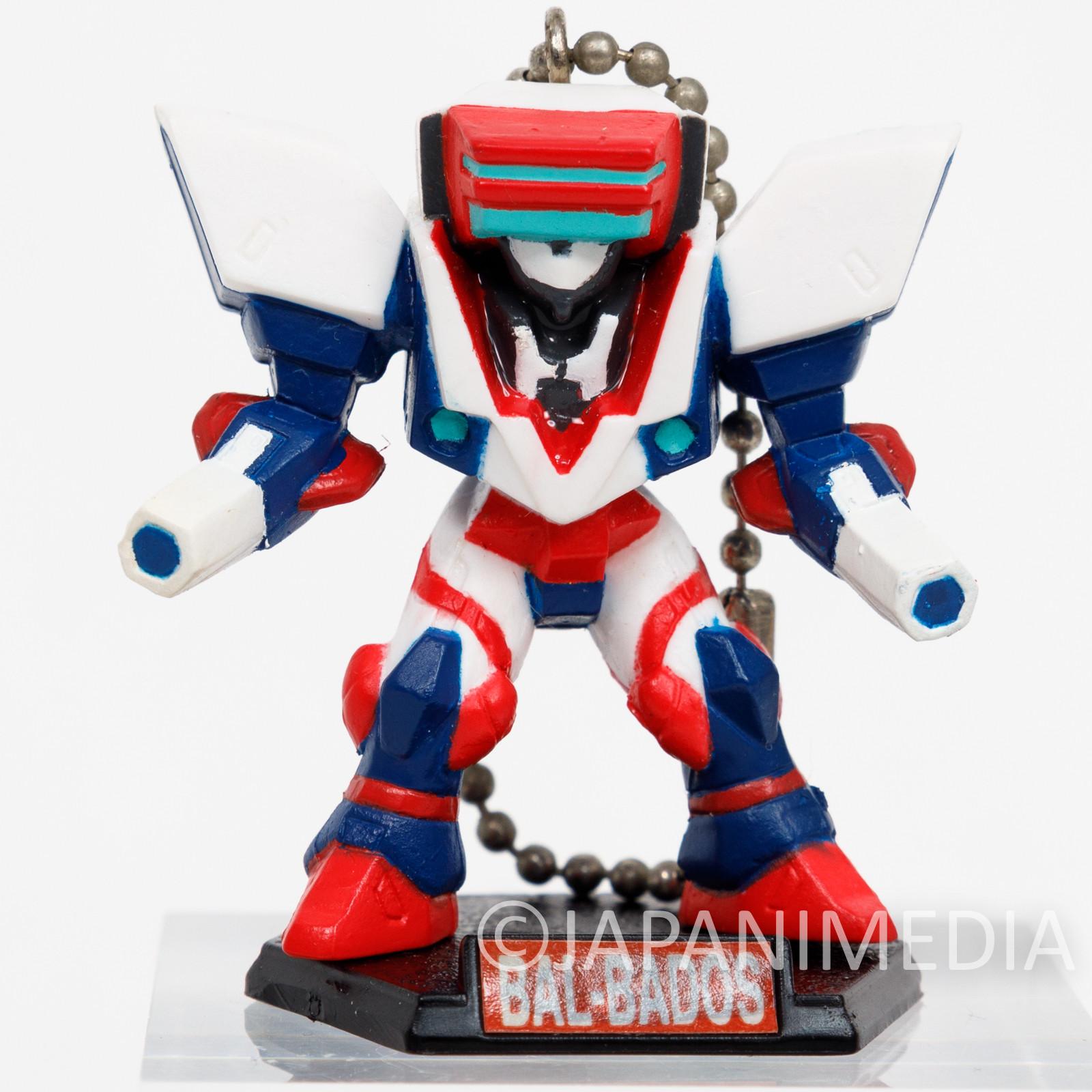 Virtual On: Cyber Troopers Bal Bados XBV-819-TR4 Figure Keychain JAPAN SEGA