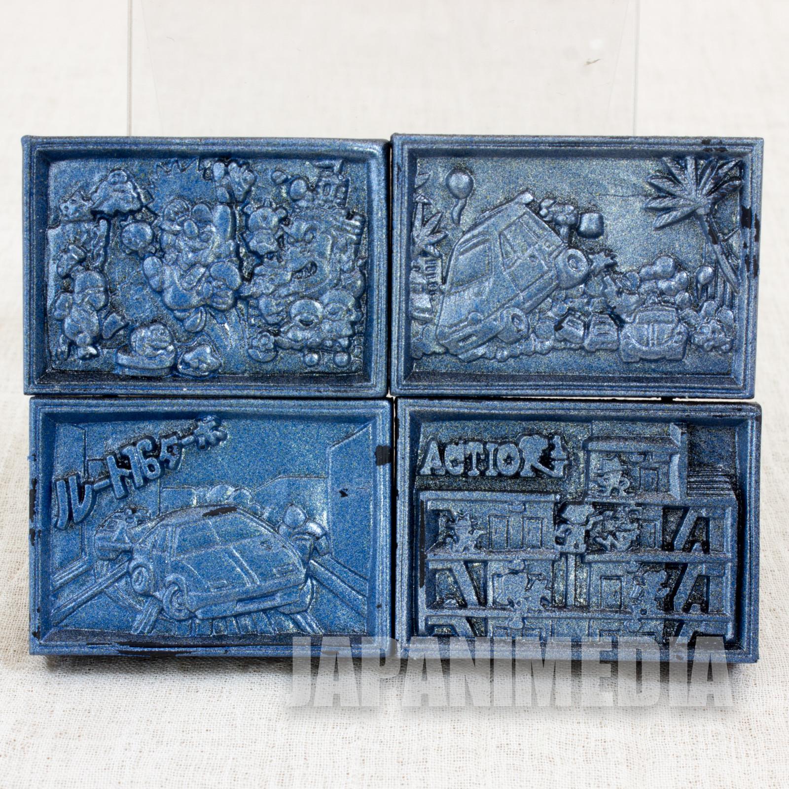 NES Cassette type Eraser Set Super Mario Bros. Eleveter Action Route 16 Turbo