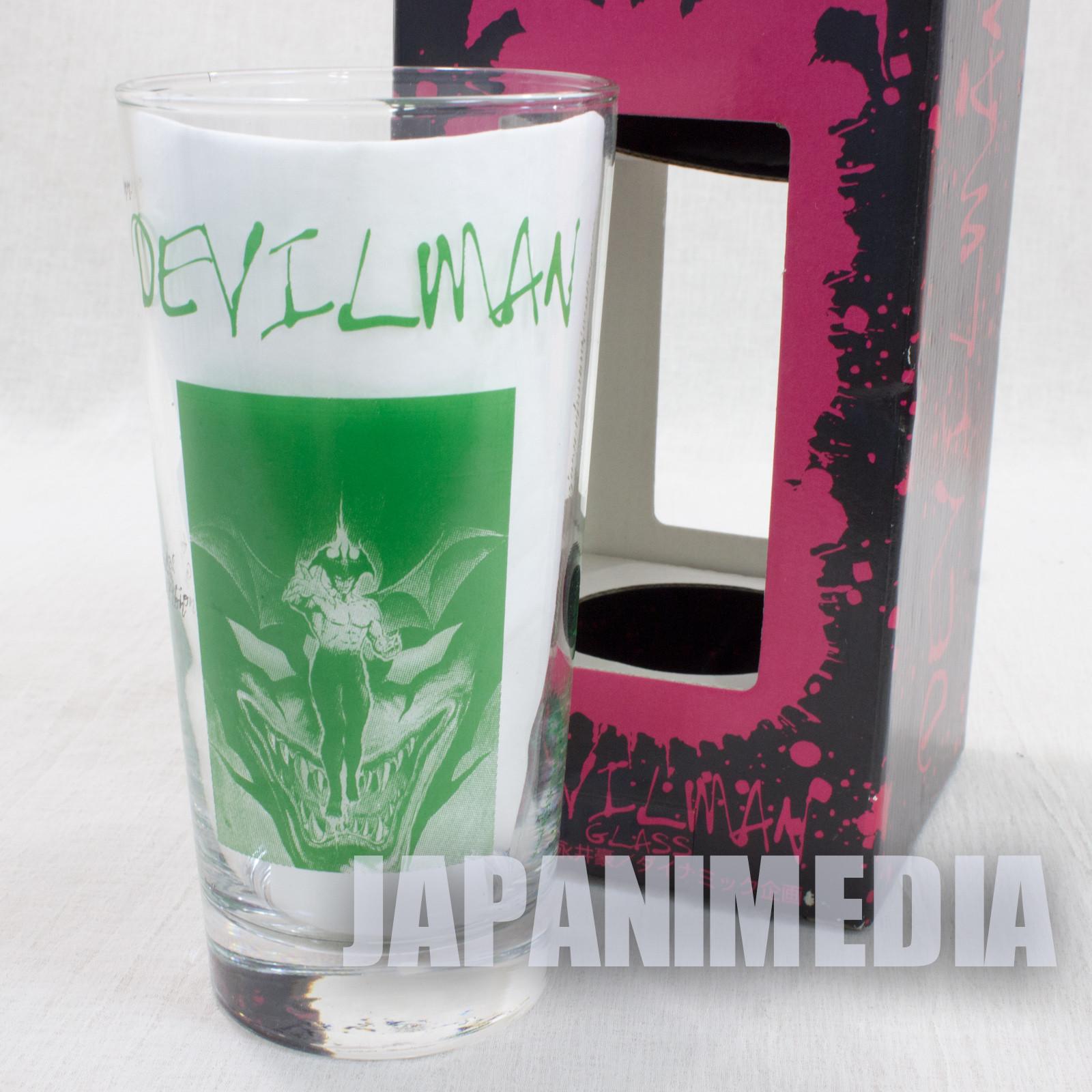 Devilman Green Ver. Glass Go Nagai SK JAPAN ANIME MANGA