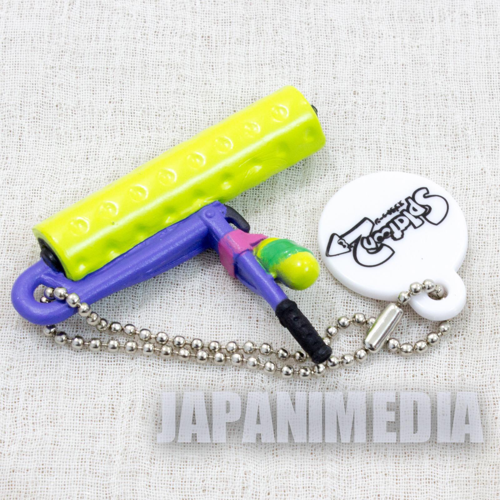 Splatoon 2 Weapon Figure Ballchain Splat Roller #1 Takara Tomy Nintendo Switch