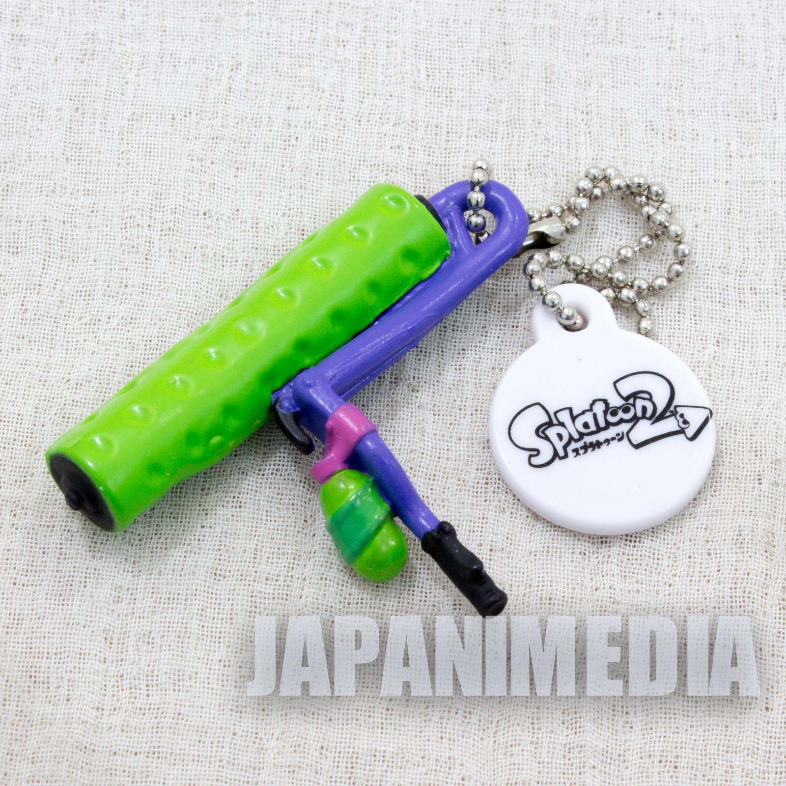 Splatoon 2 Weapon Figure Ballchain Splat Roller #2 Takara Tomy Nintendo Switch