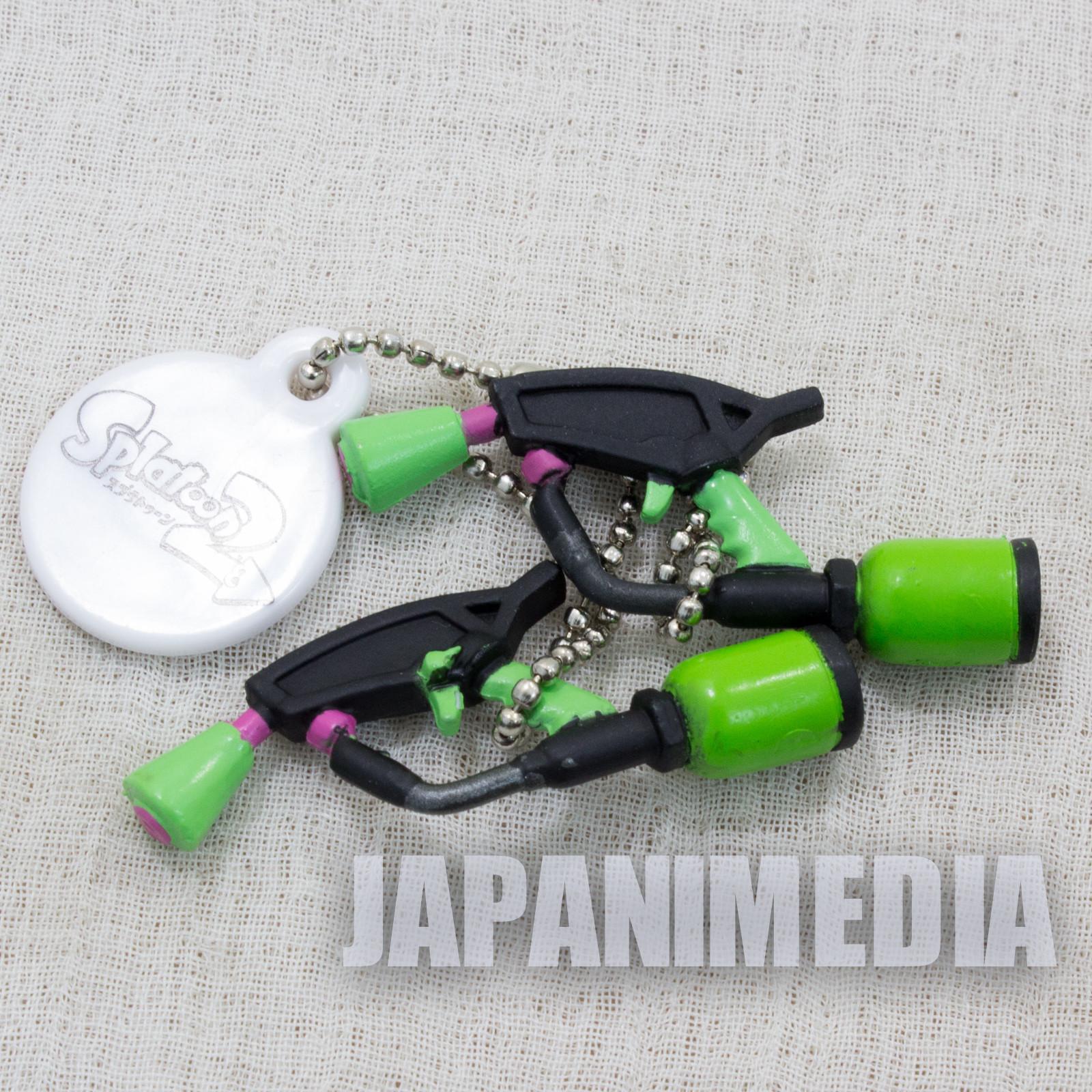 Splatoon 2 Weapon Figure Ballchain Splat Dualies #3 Takara Tomy Nintendo Switch