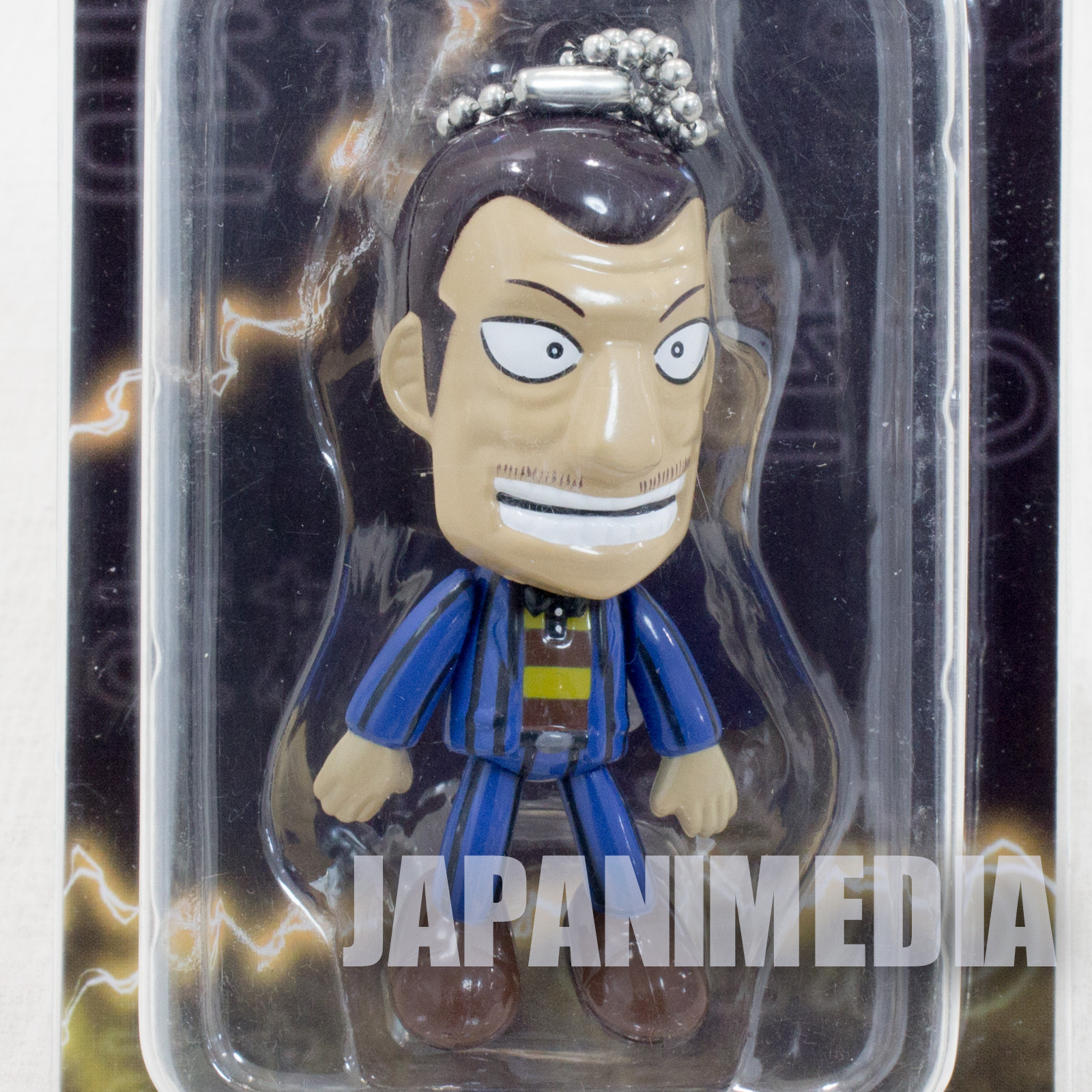 RARE! KAIJI Ultimate Survivor Sakazaki Figure Ballchain JAPAN ANIME