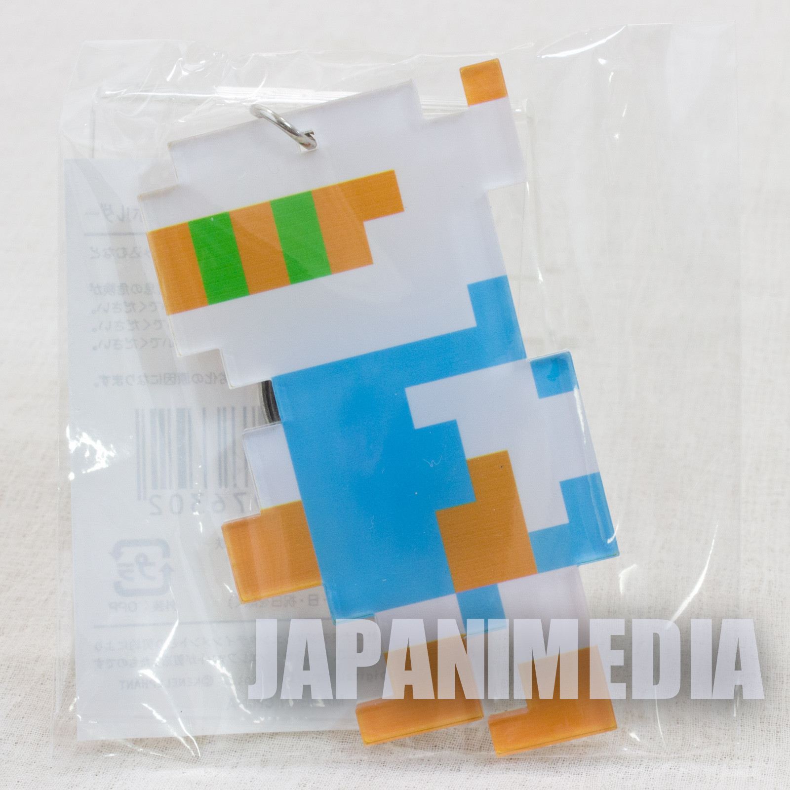 Bomberman Big size Acrylic Mascot Keychain KONAMI JAPAN GAME FAMICOM NES