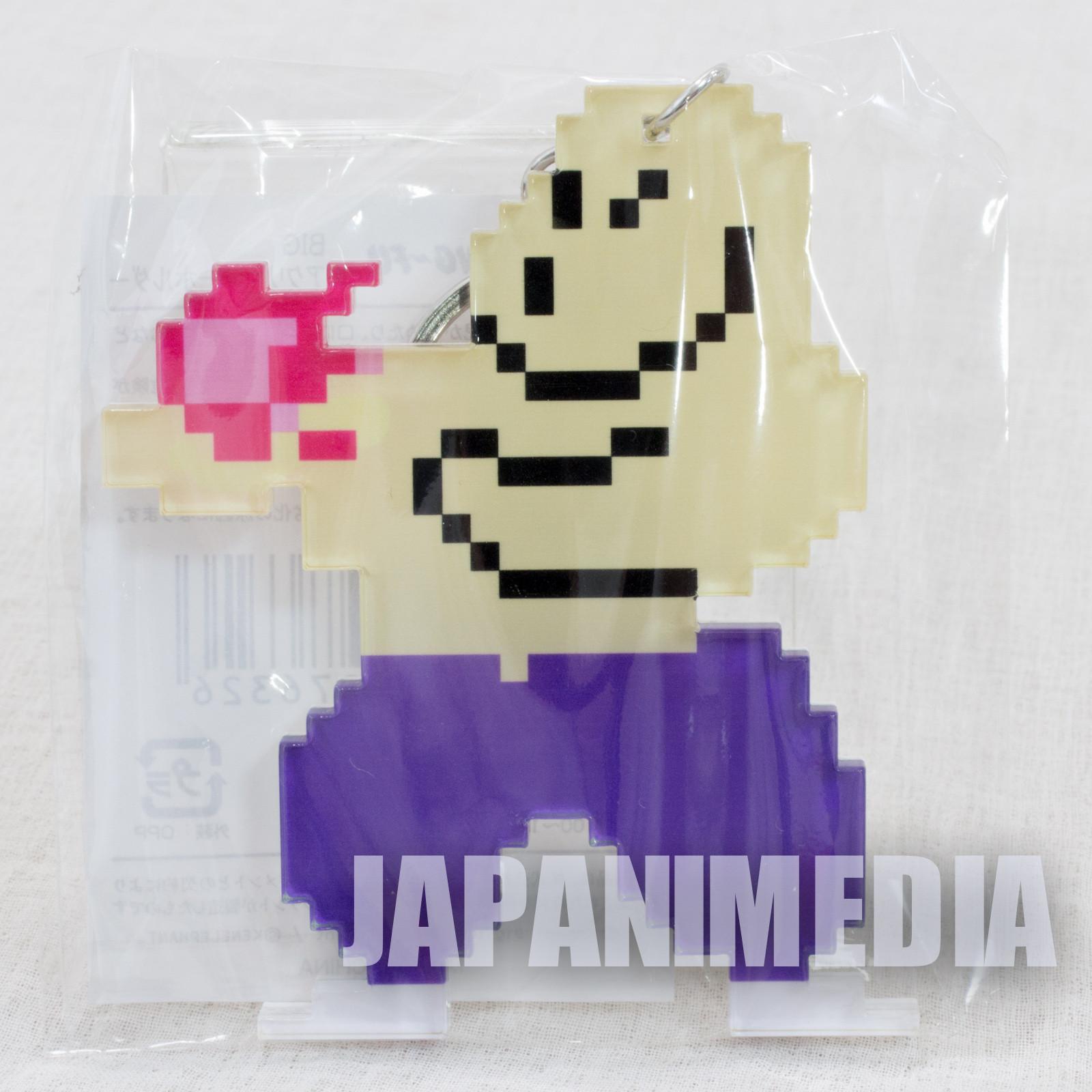 Yie Ar Kung-Fu Big size Acrylic Mascot Keychain KONAMI JAPAN GAME FAMICOM NES