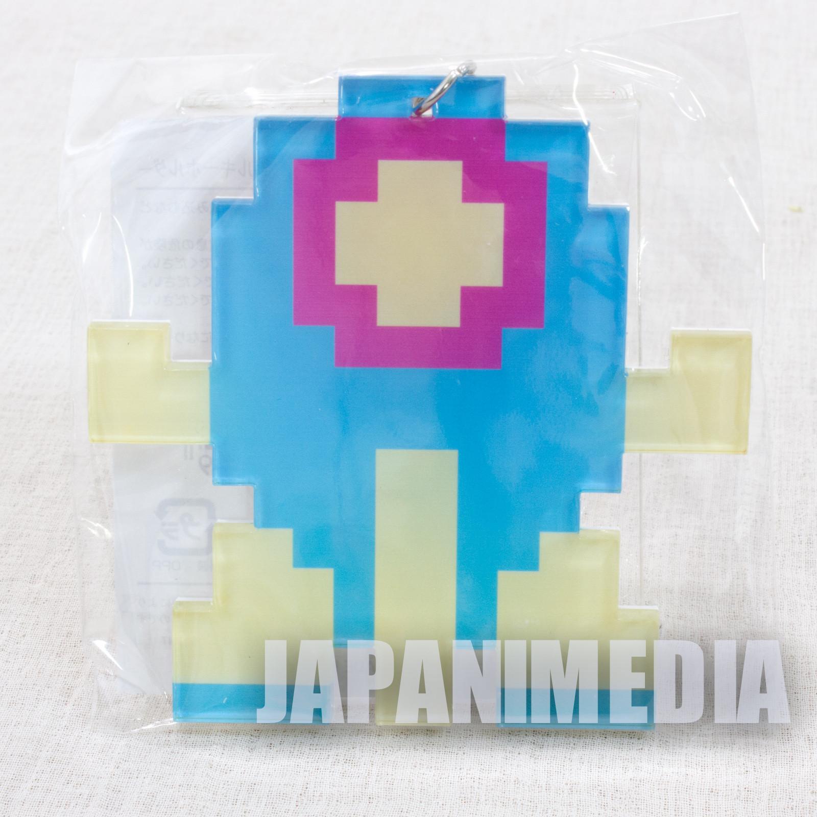 TwinBee Big size Acrylic Mascot Keychain KONAMI JAPAN GAME FAMICOM NES