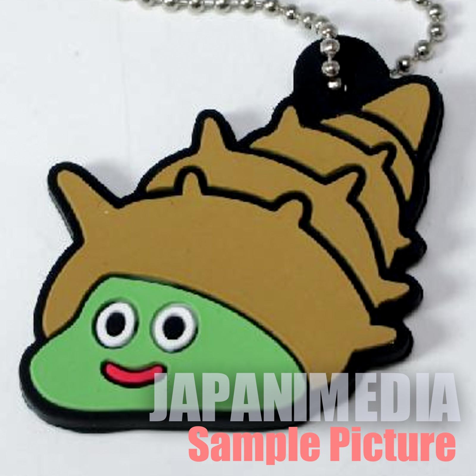 Dragon Quest Monster Rubber Mascot Ballchain Shell Slime JAPAN GAME WARRIOR