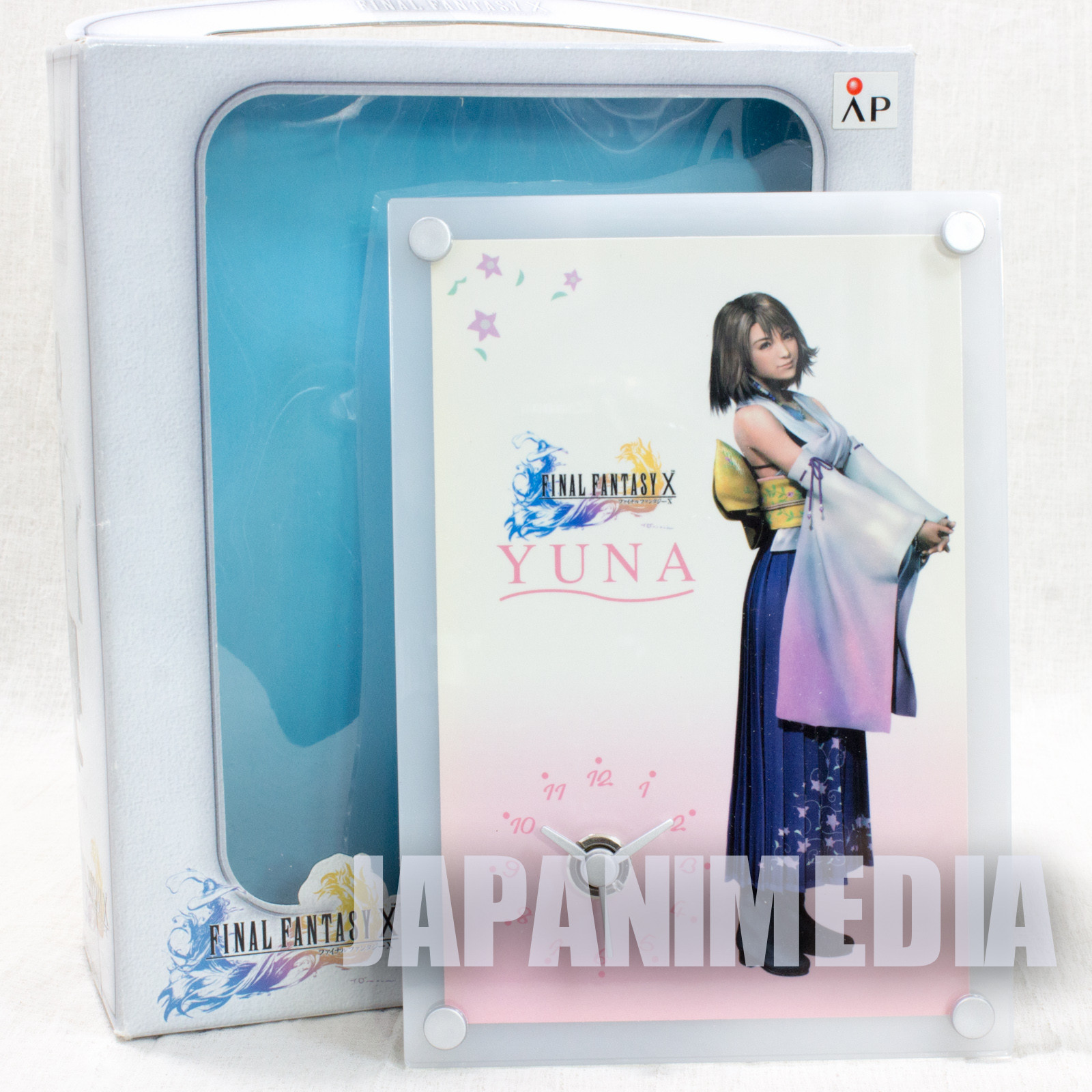 Final Fantasy X-2 Picture Clock Yuna #1 JAPAN ANIME GAME SQUARE ENIX