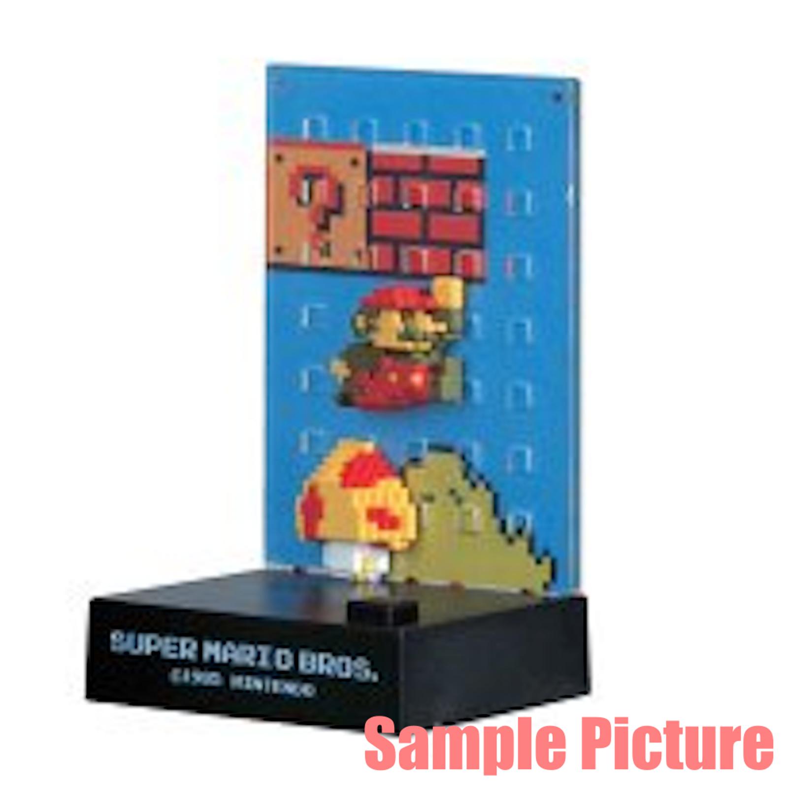 RARE! Nintendo Dotgraphics Super Mario Bros. Figure with Game Sound