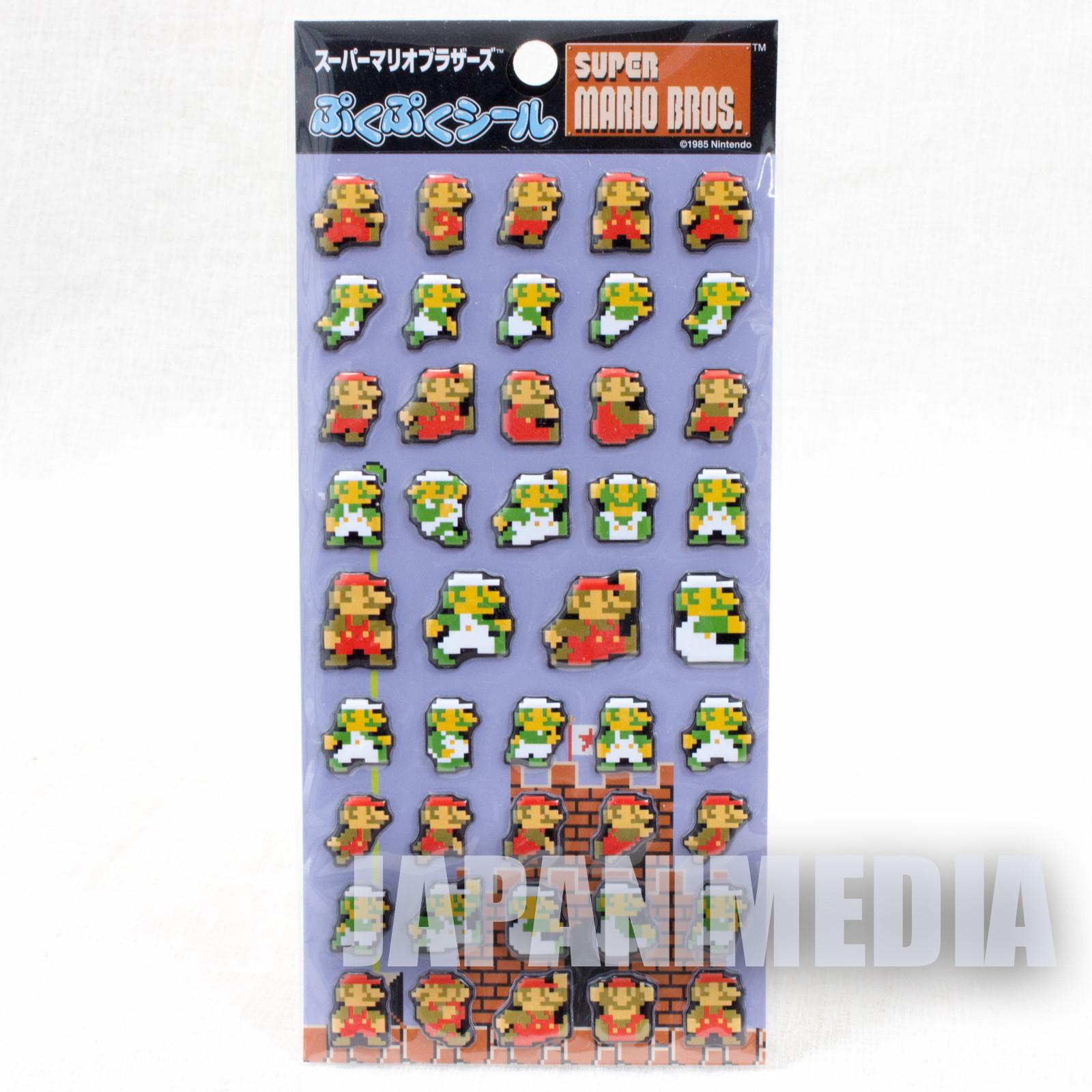 Super Mario Bros. Sticker Set JAPAN NINTENDO NES FAMICOM