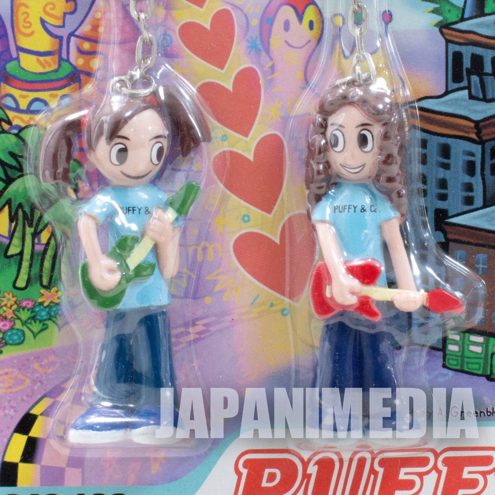 Puffy Ami & Yumi Figure Key chain #2 JAPAN