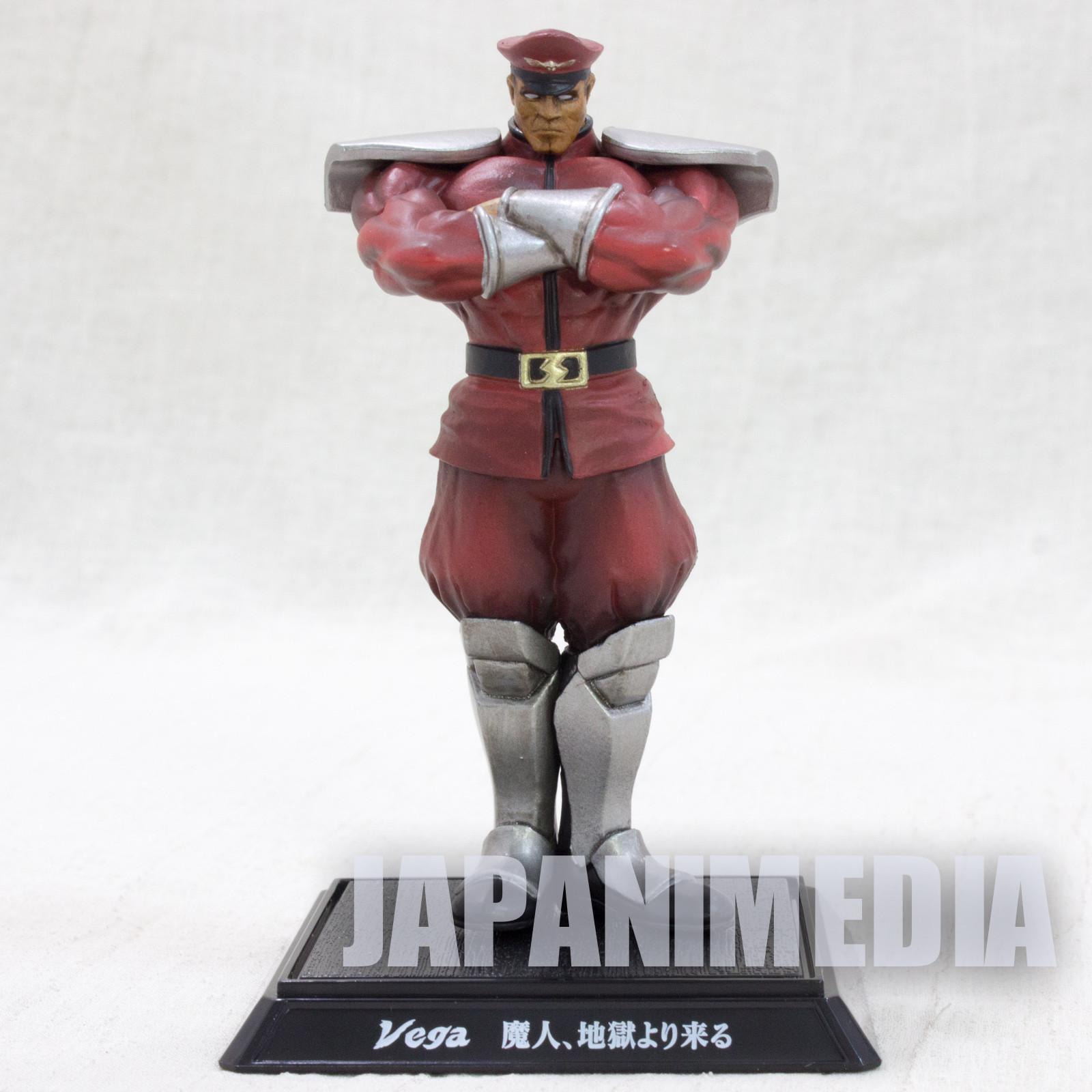Street Fighter 4 Bison Figure Capcom Character JAPAN GAME VEGA
