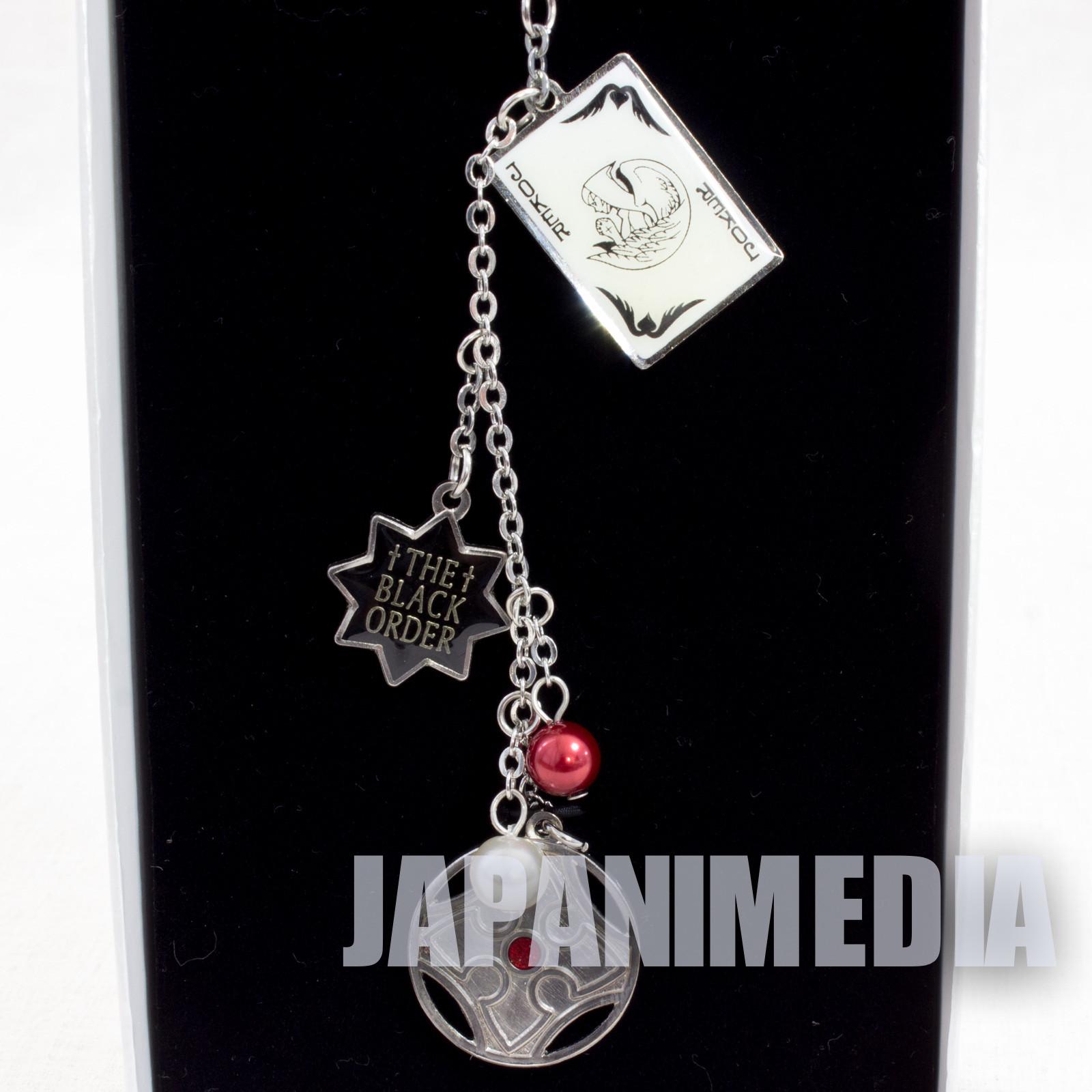 RARE! D.Gray-man The Black Order Bag charm Keychain [A] JAPAN ANIME