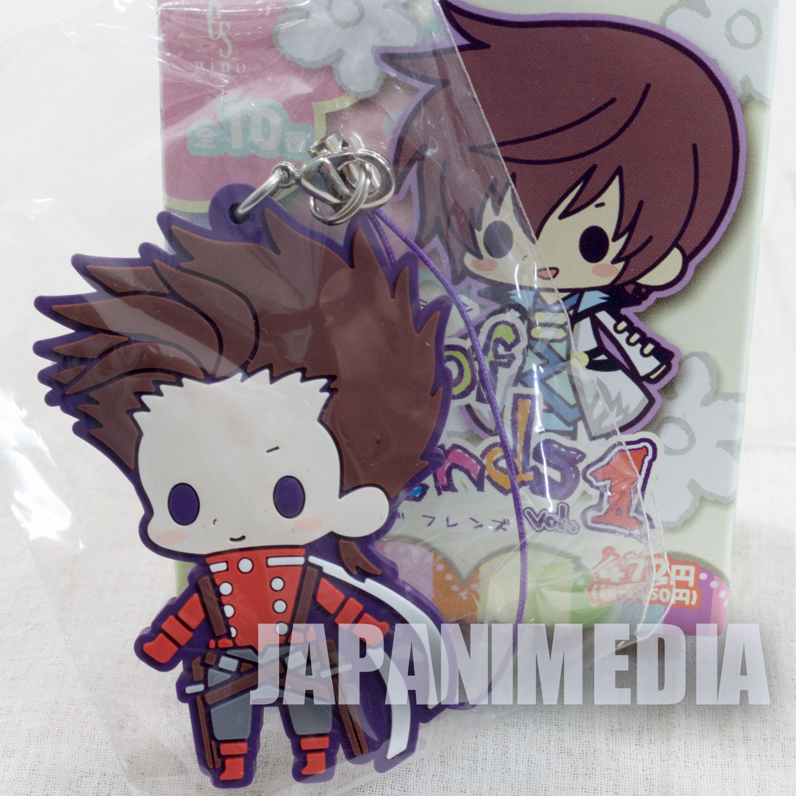 Tales of Fantasia Series Lloyd Irving Symphonia Rubber Mascot Strap JAPAN GAME