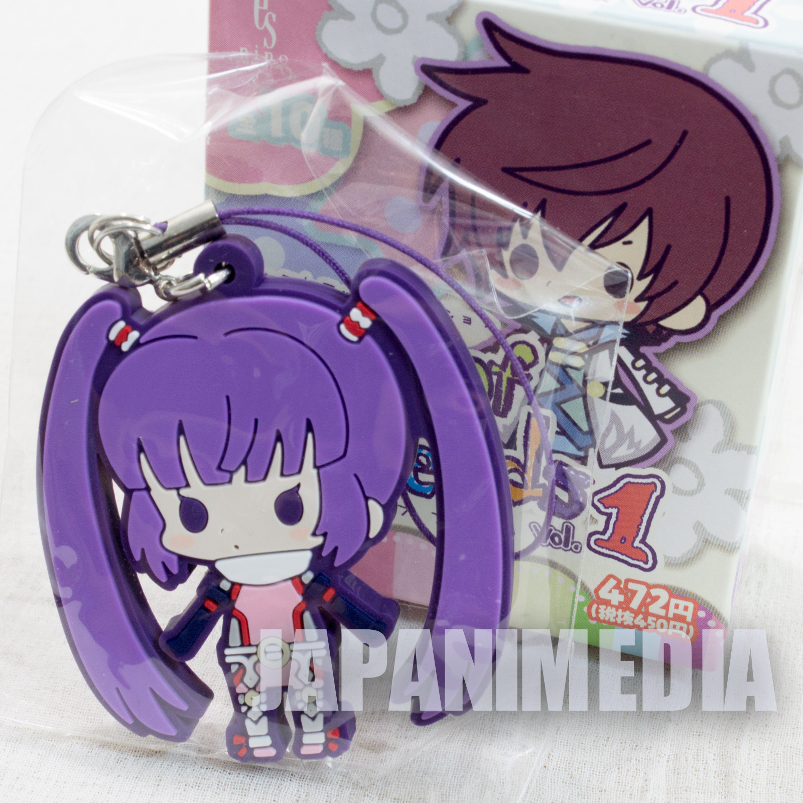 Tales of Fantasia Series Sophie Lhant Graces Rubber Mascot Strap JAPAN GAME