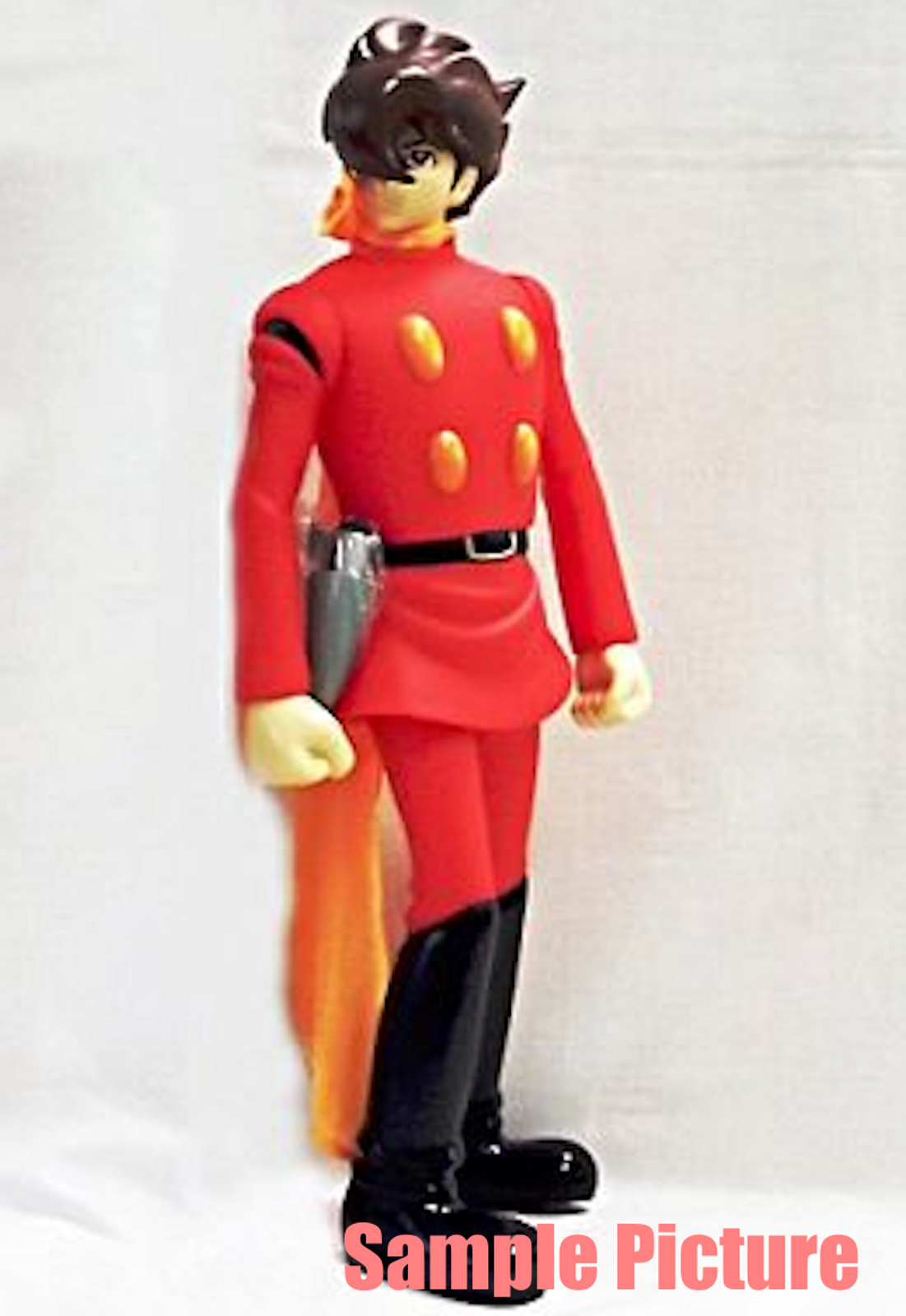 Cyborg 009 Big Size Soft Vinyl Figure Joe Shimamura Banpresto JAPAN ANIME