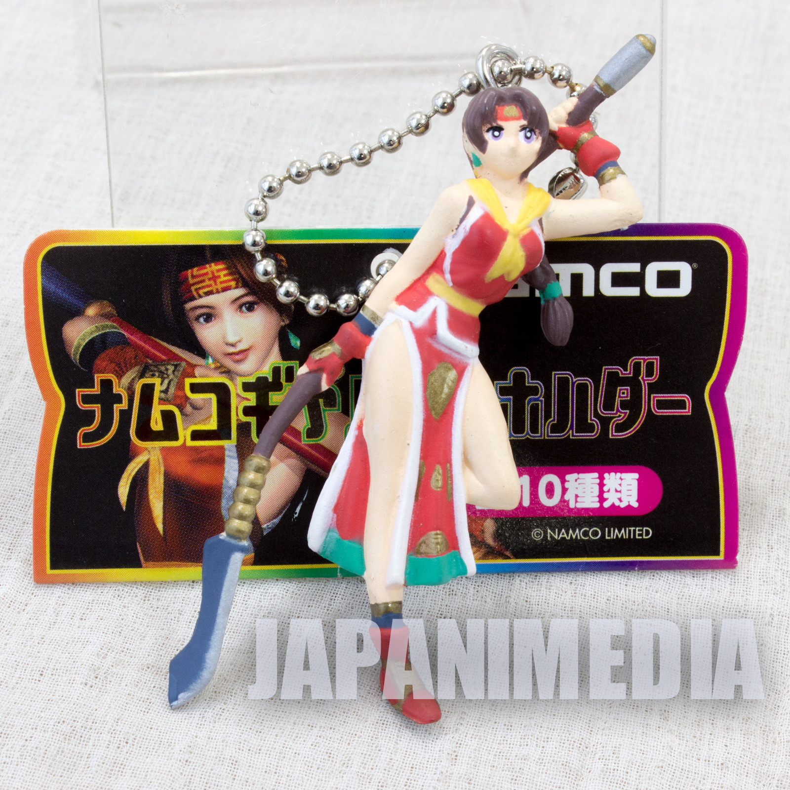 Retro Rare! Soul Calibur Seong Mi-na Color Figure Ballchain Namco JAPAN