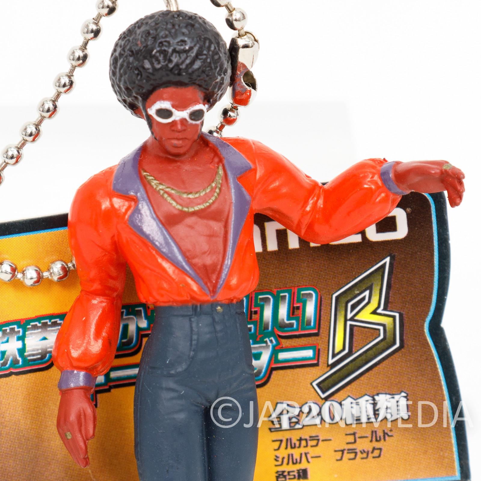 Retro RARE! Tekken Tiger Jackson Figure Keychain Namco JAPAN GAME