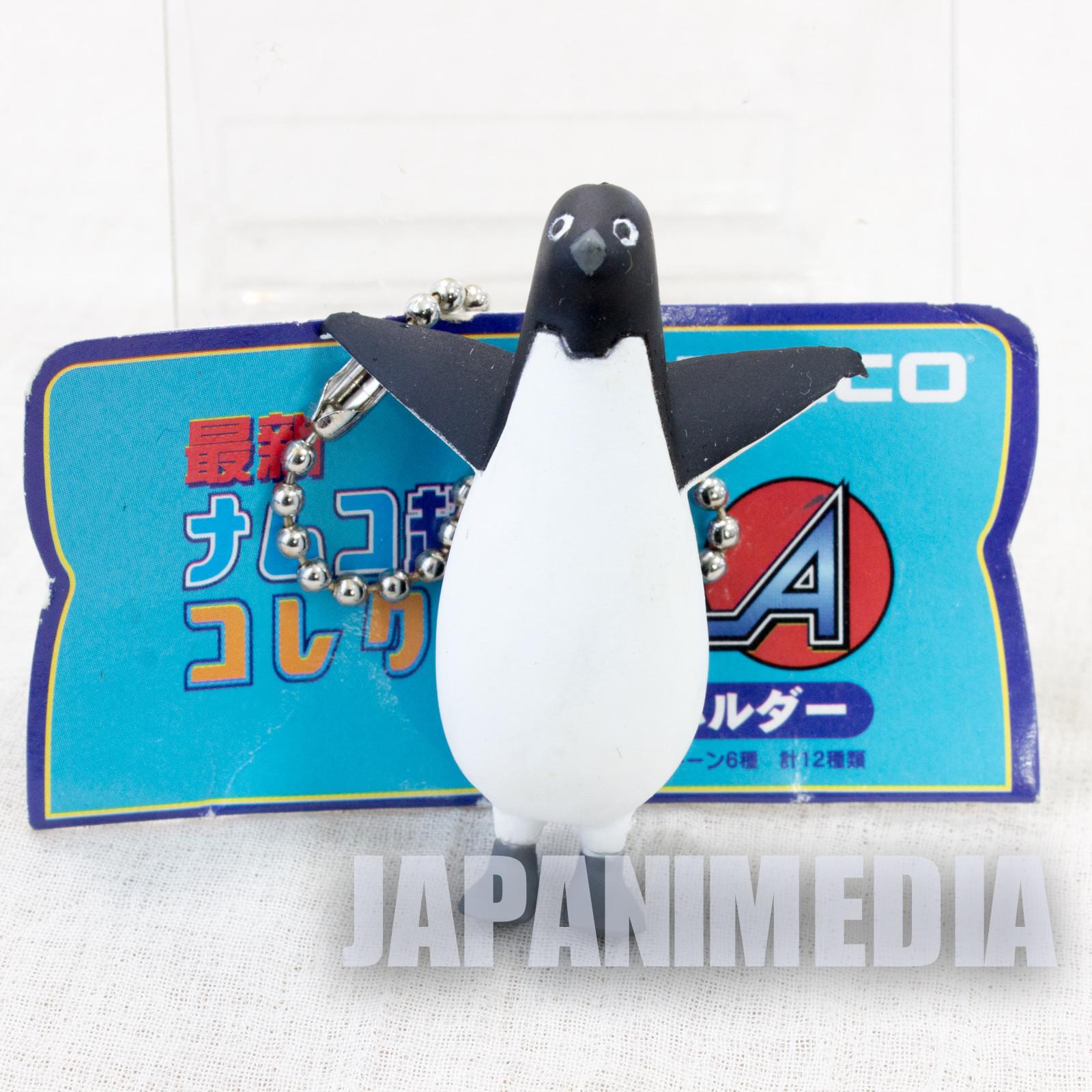 Retro Rare! Namco Game Character Penguin Figure Ballchain JAPAN
