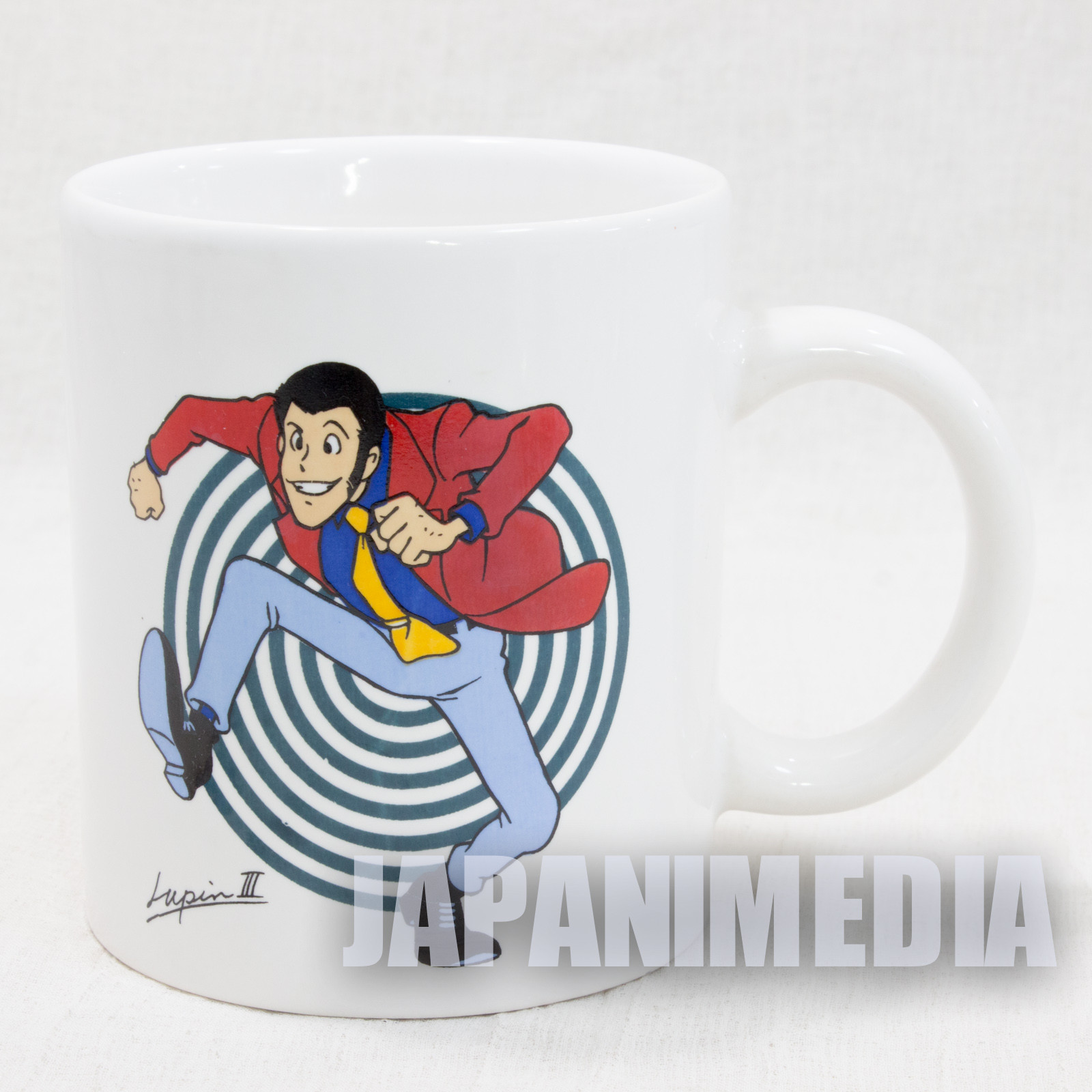 Lupin the Third 3rd LUPIN and ZENIGATA Mug JAPAN ANIME MANGA