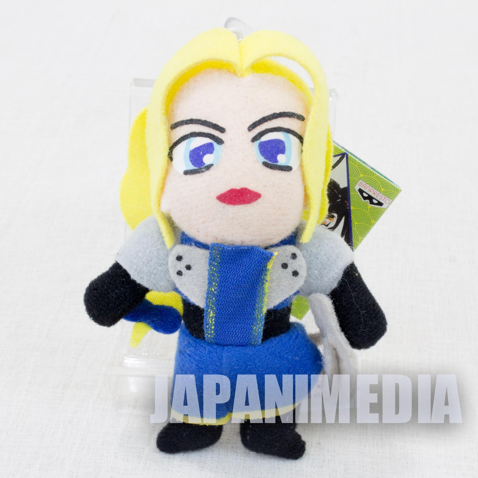 Retro RARE! Samurai Shodown Charlotte Plush Doll Keychain SNK NEOGEO SPIRITS