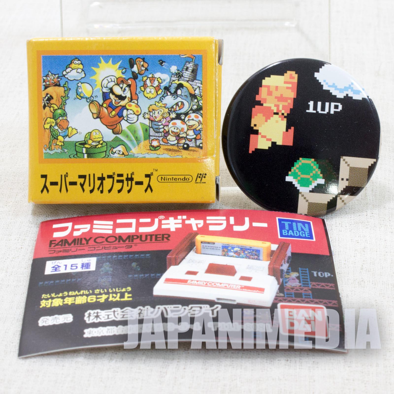 Super Mario Bros. Pins Badge #2 Nintendo JAPAN FAMICOM NES
