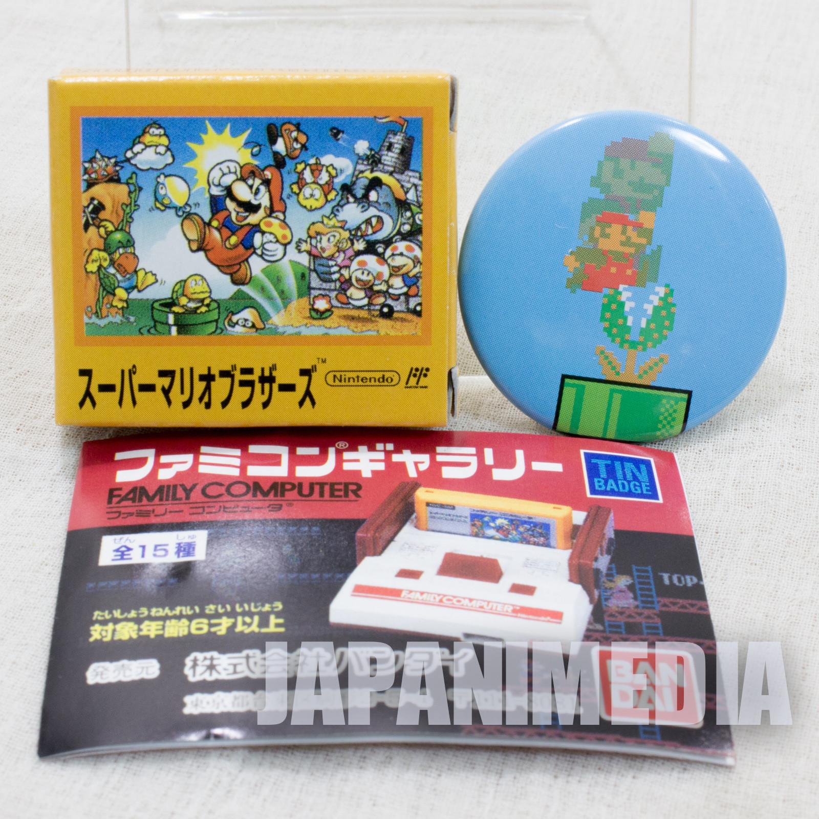 Super Mario Bros. Pins Badge #3 Nintendo JAPAN FAMICOM NES