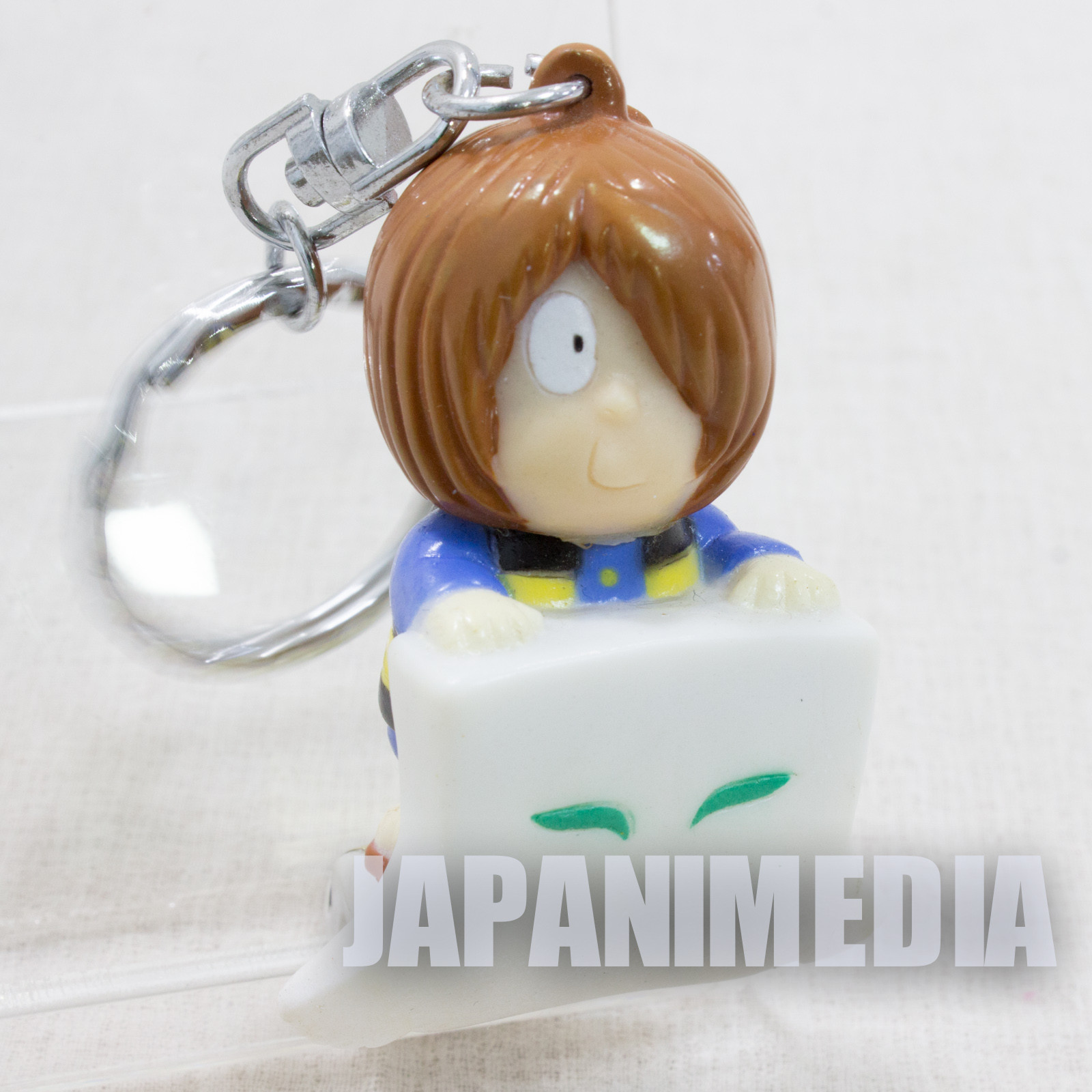 GeGeGe no Kitaro KITARO on Ittanmomen Figure Keychain JAPAN ANIME MANGA